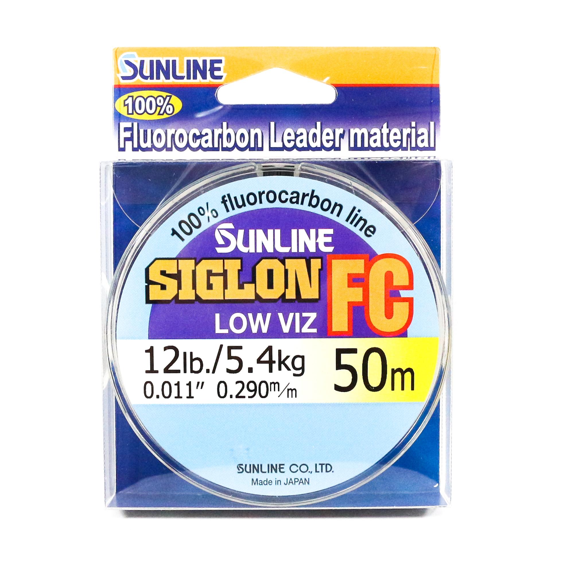 Sunline Siglon FC Fluorocarbon Line 50m 12lb Diameter 0.29 mm (5860)