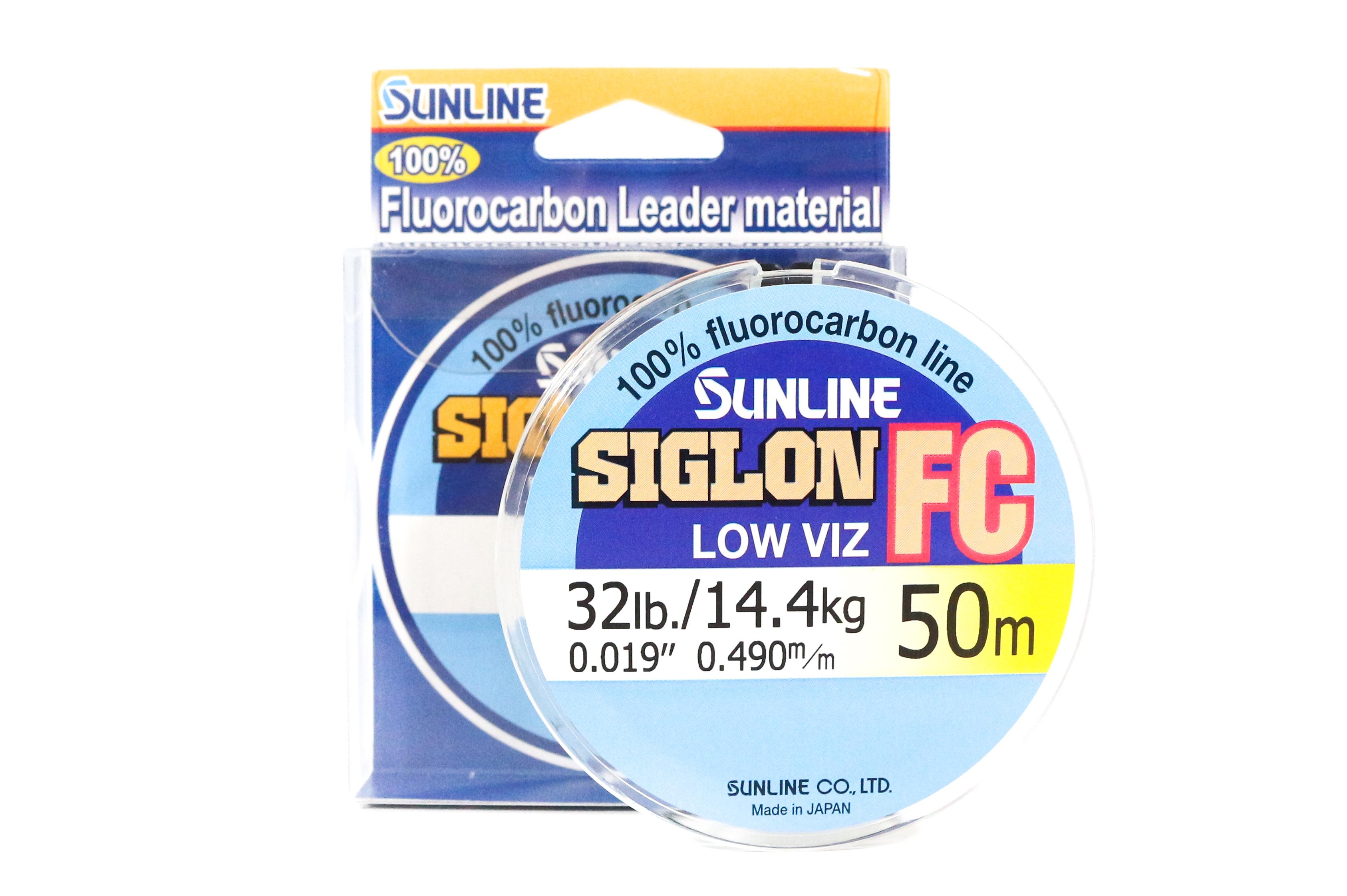 Sunline Siglon FC Fluorocarbon Line 50m 32lb Diameter 0.49 mm (5938)