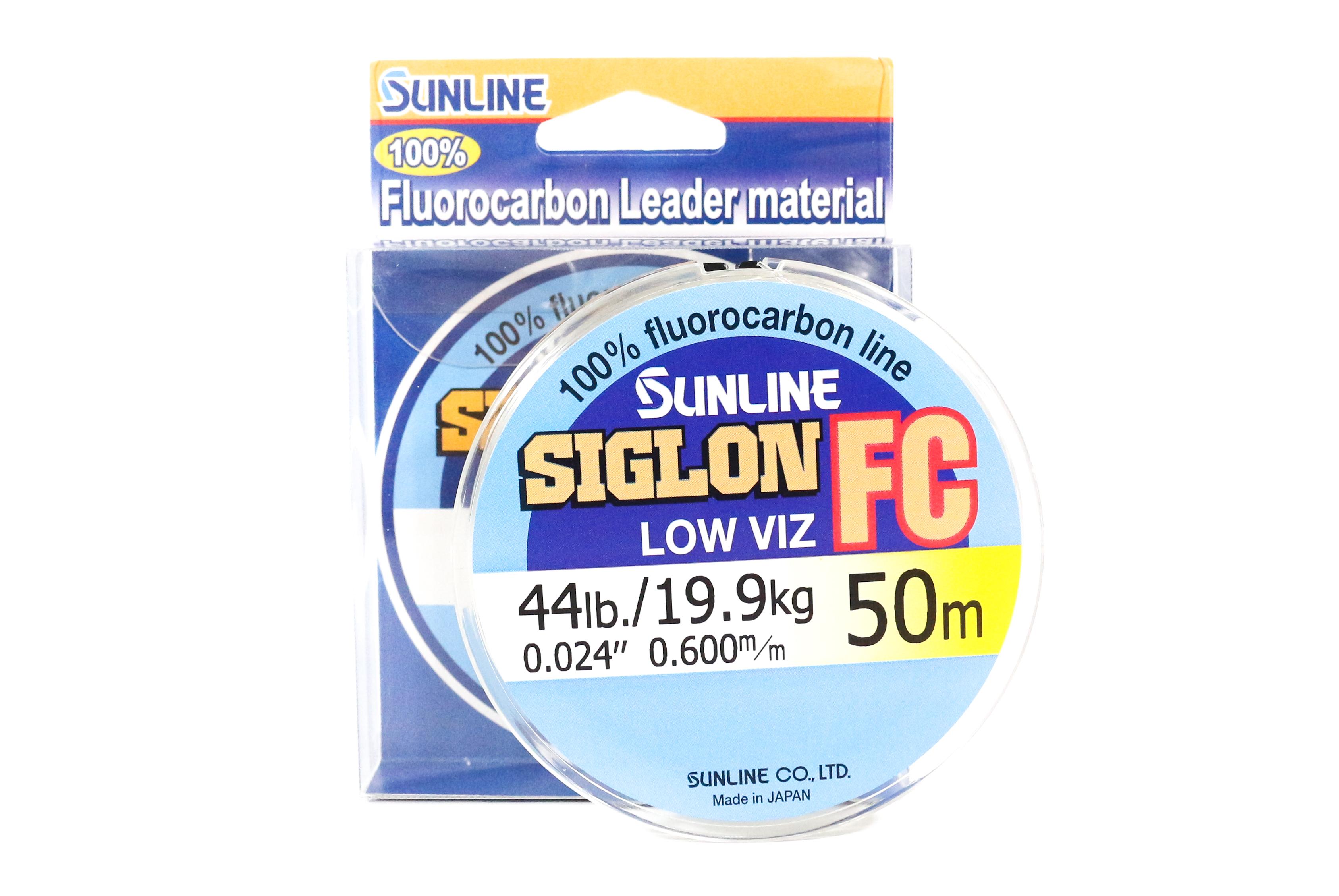 Sunline Siglon FC Fluorocarbon Line 50m 44lb Diameter 0.6 mm (5952)