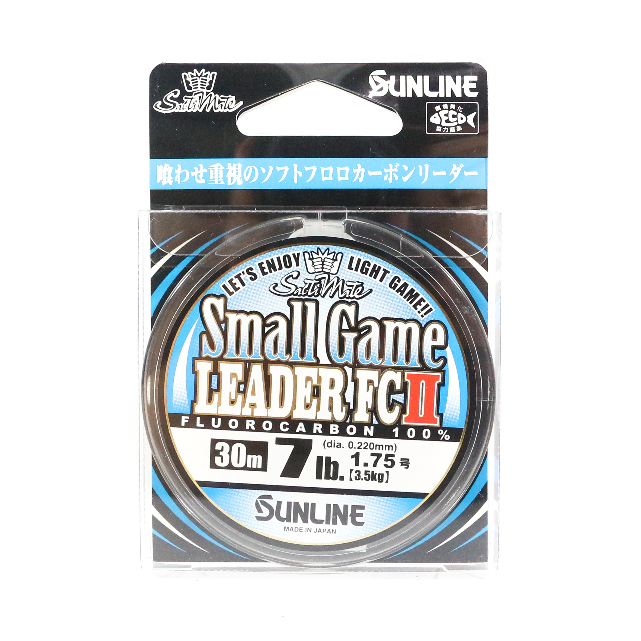 Sunline Fluorocarbon Small Game Leader FC II 30m 7lb (8003)