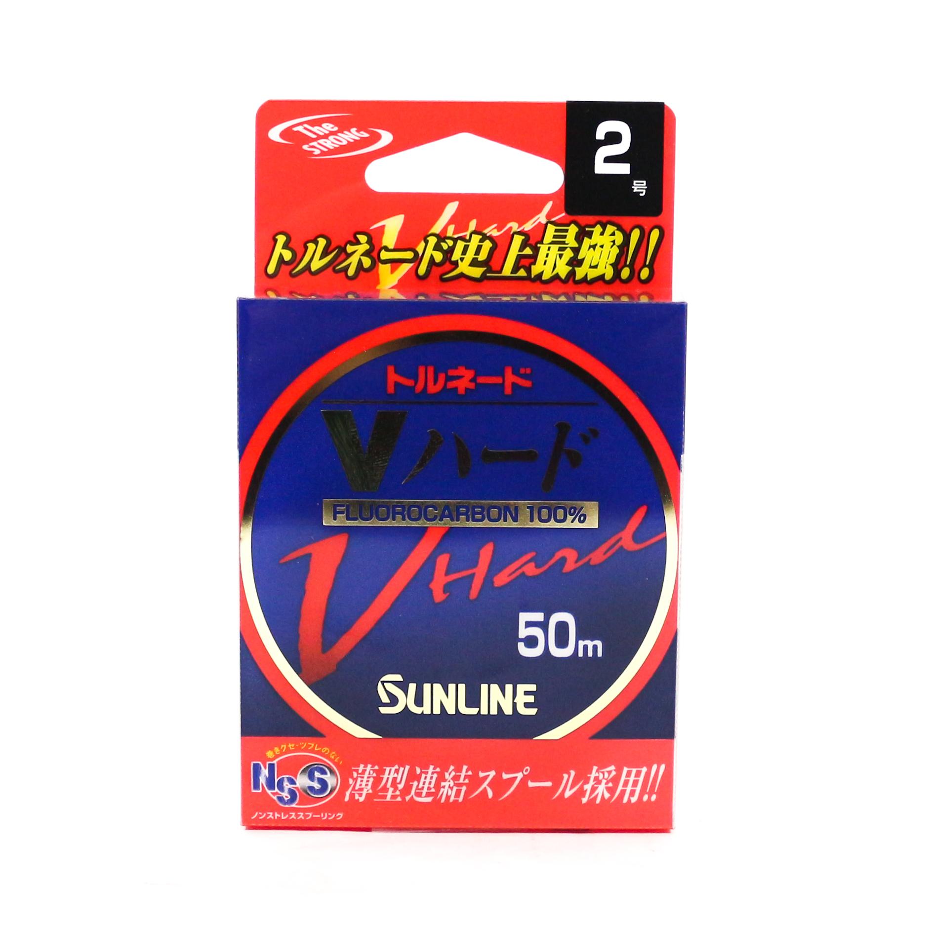 Sunline Fluorocarbon Tornado V Hard Strong 50m #2 8lb (7878)