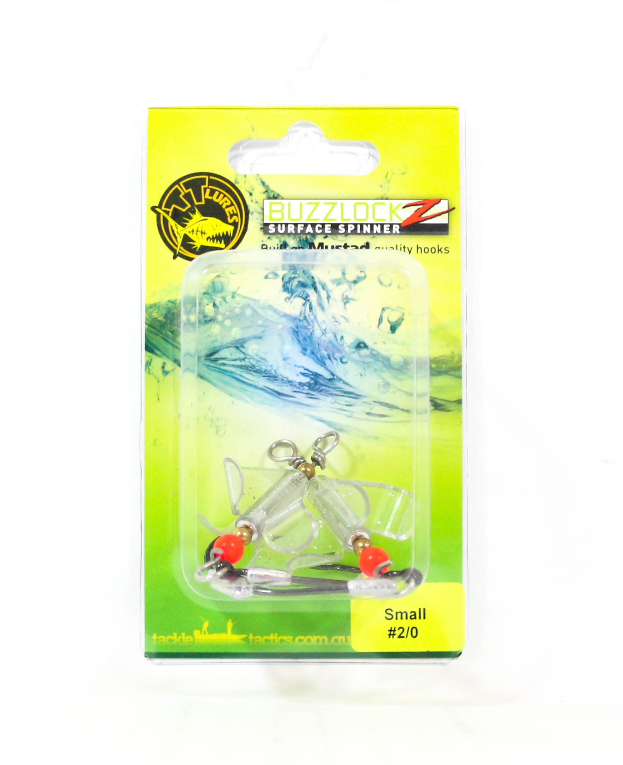 Tackle Tactics TT Buzzlockz Small 2/0 2 per pack (6108)