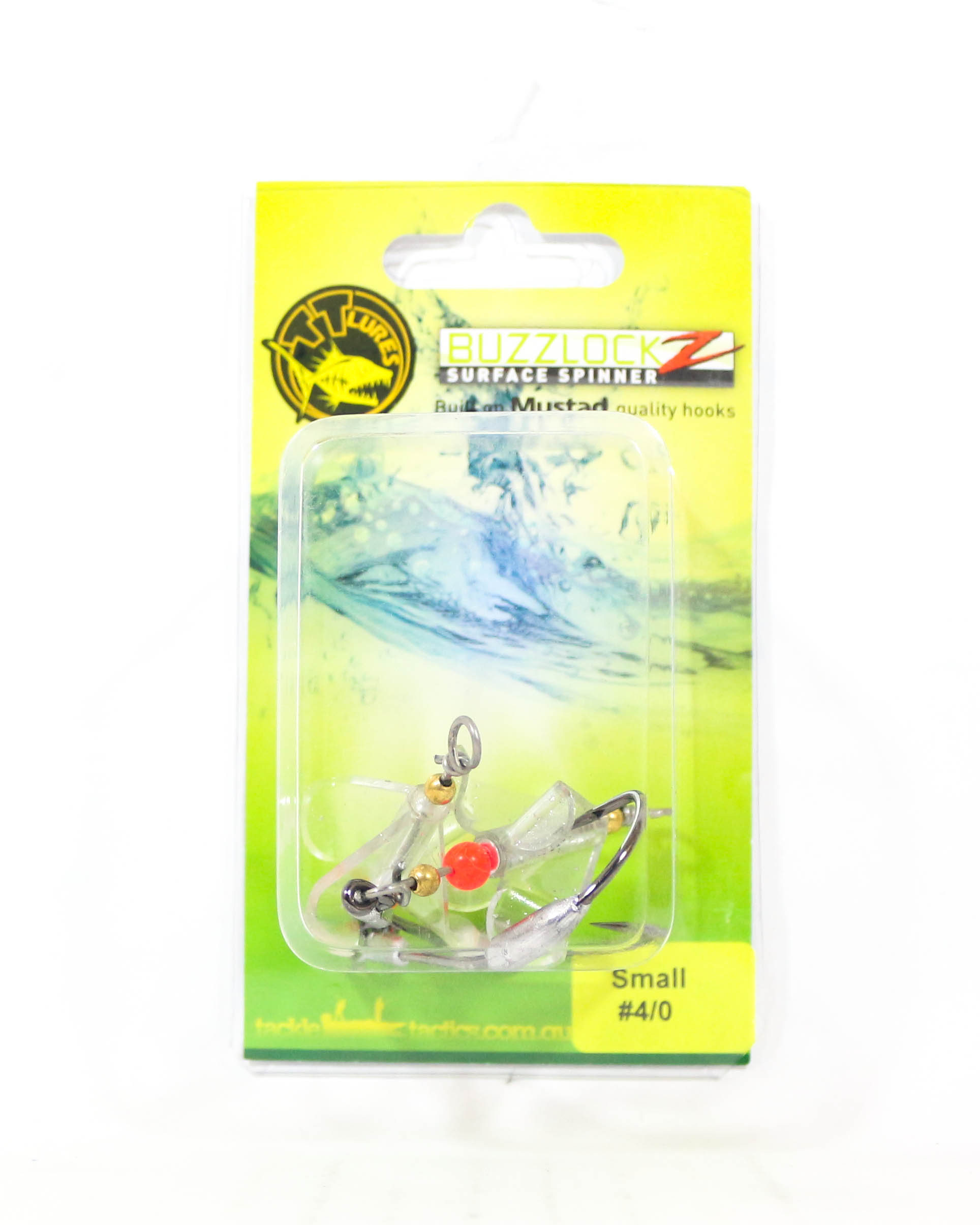 Tackle Tactics TT Buzzlockz Small 4/0 2 per pack (6122)