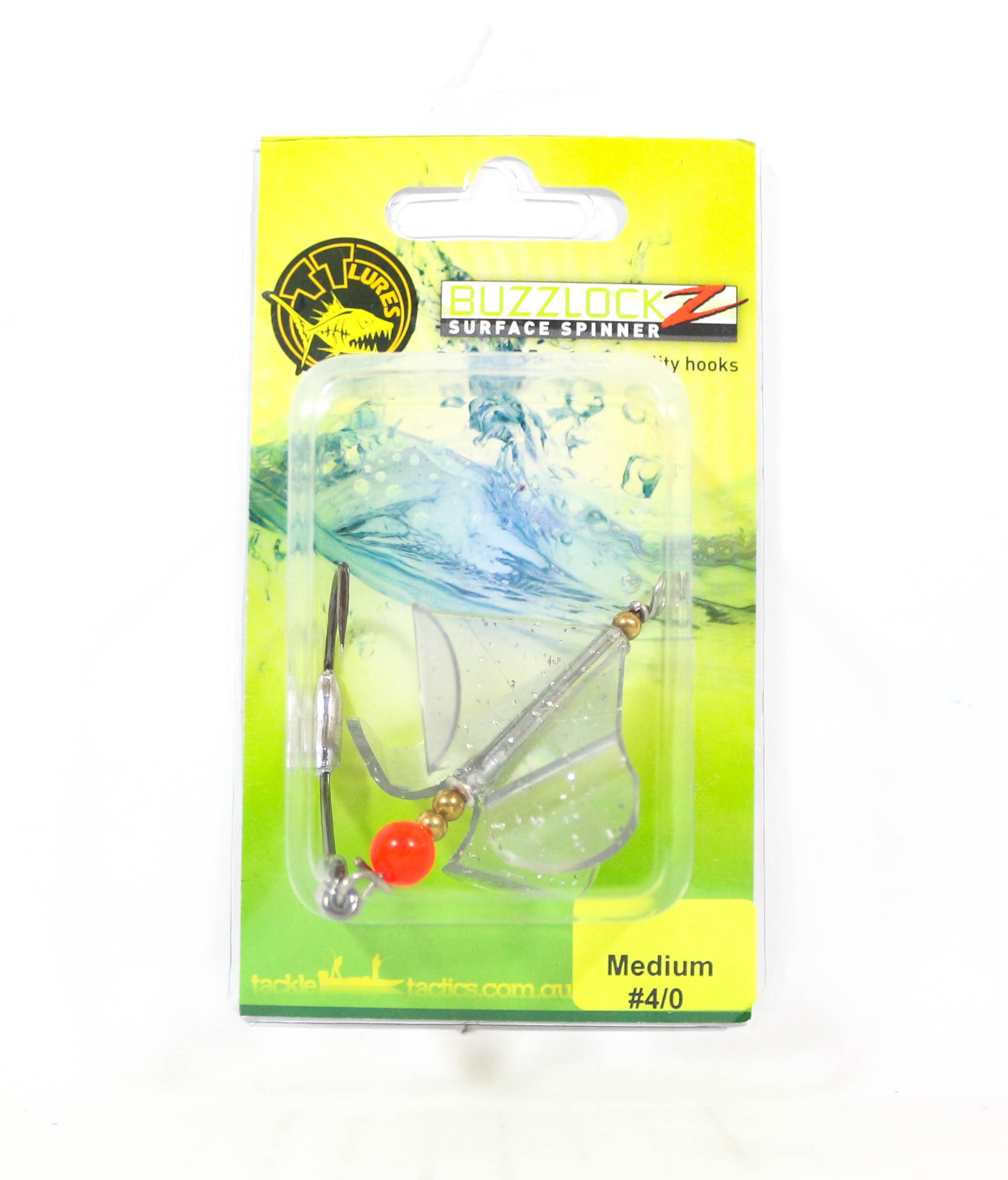 Tackle Tactics TT Buzzlockz Medium 4/0 1 per pack (6139)