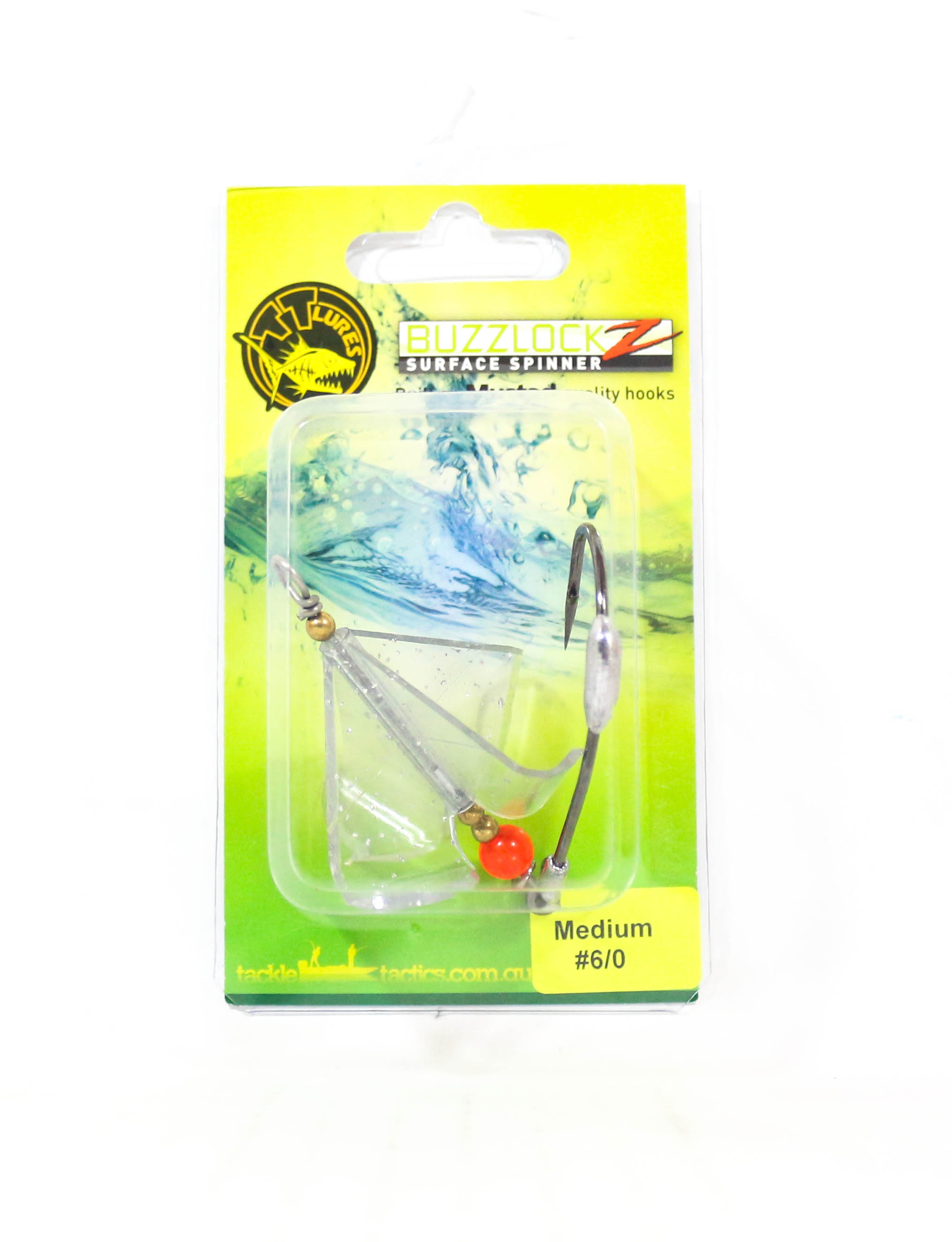 Tackle Tactics TT Buzzlockz Medium 6/0 1 per pack (6153)