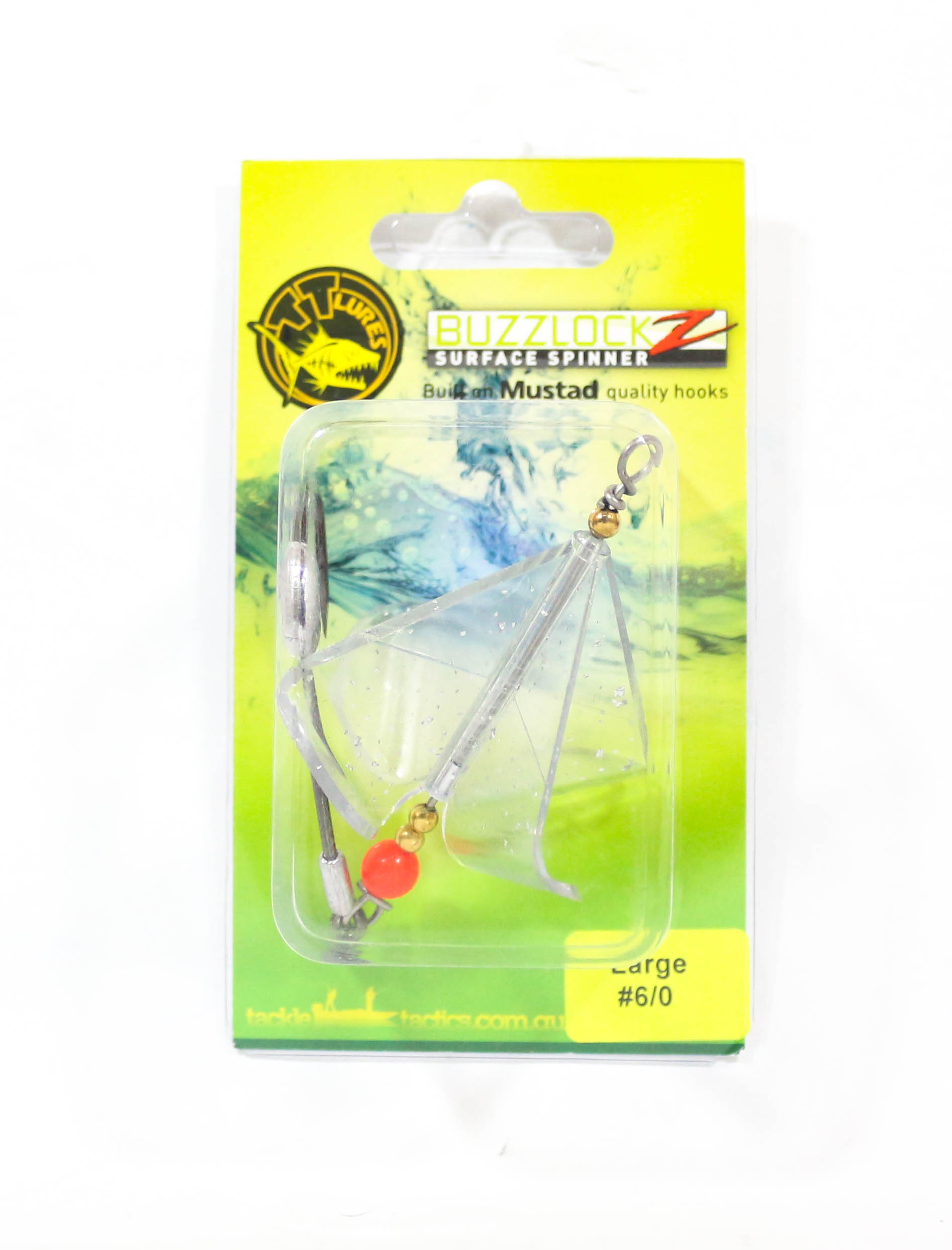 Tackle Tactics TT Buzzlockz Large 6/0 1 per pack (6160)