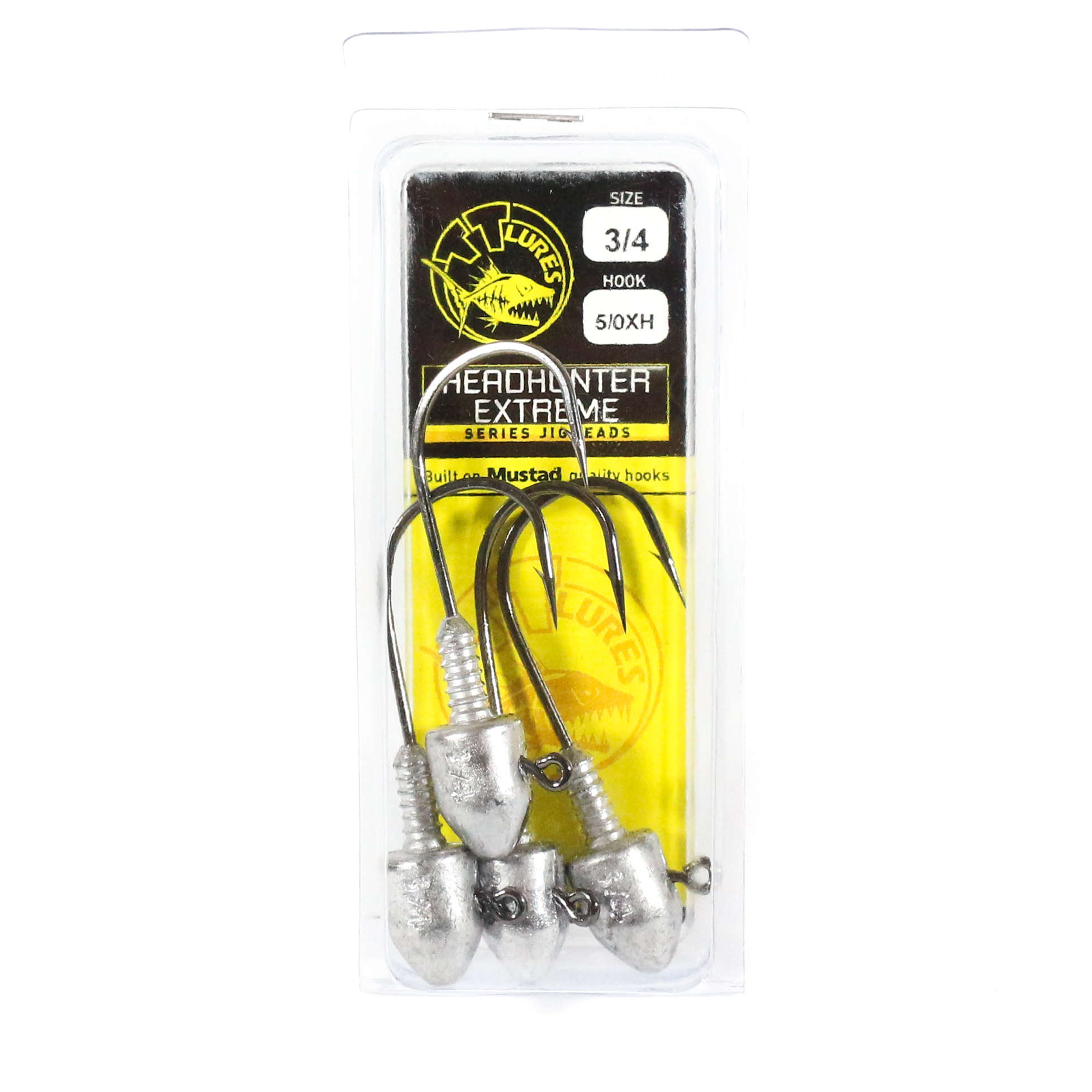Tackle Tactics TT Head Hunter Extreme Jig Head 3/4 oz 5/0 XH 4 per pack (1364)
