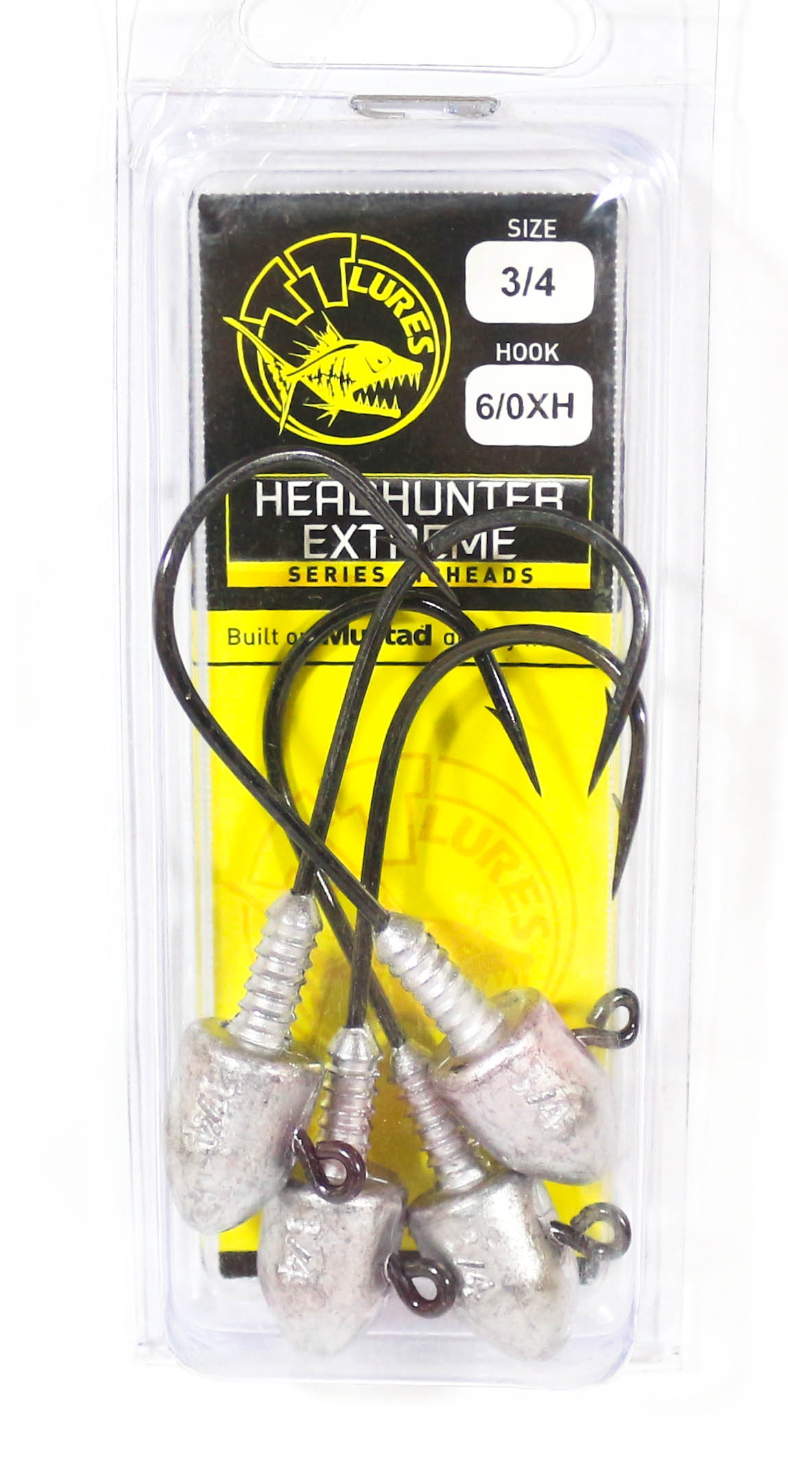Tackle Tactics TT Head Hunter Extreme Jig Head 3/4 oz 6/0 XH 4 per pack (1371)