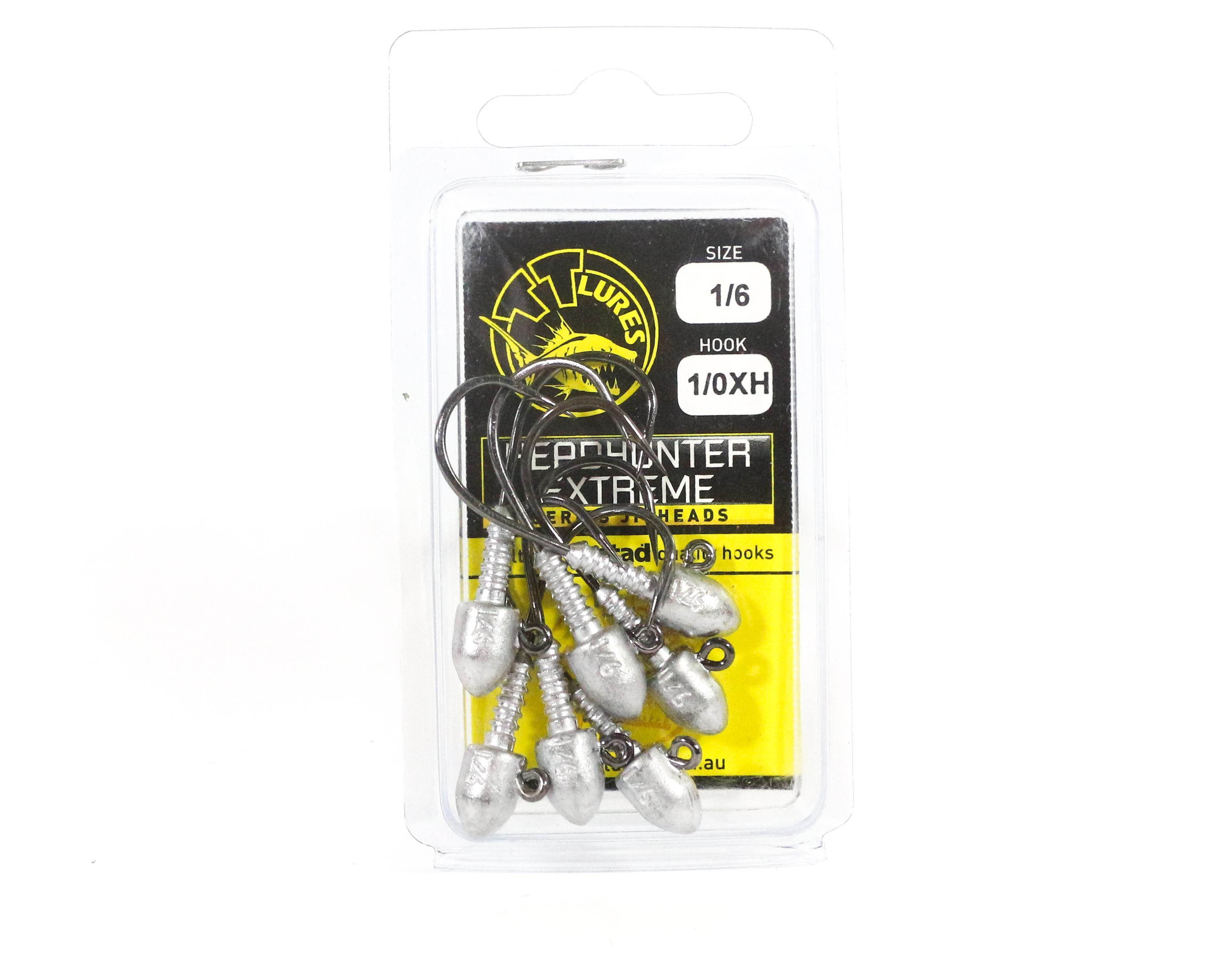 Tackle Tactics TT Head Hunter Extreme Jig Head 1/6 oz 1/0 XH 7 per pack (1487)