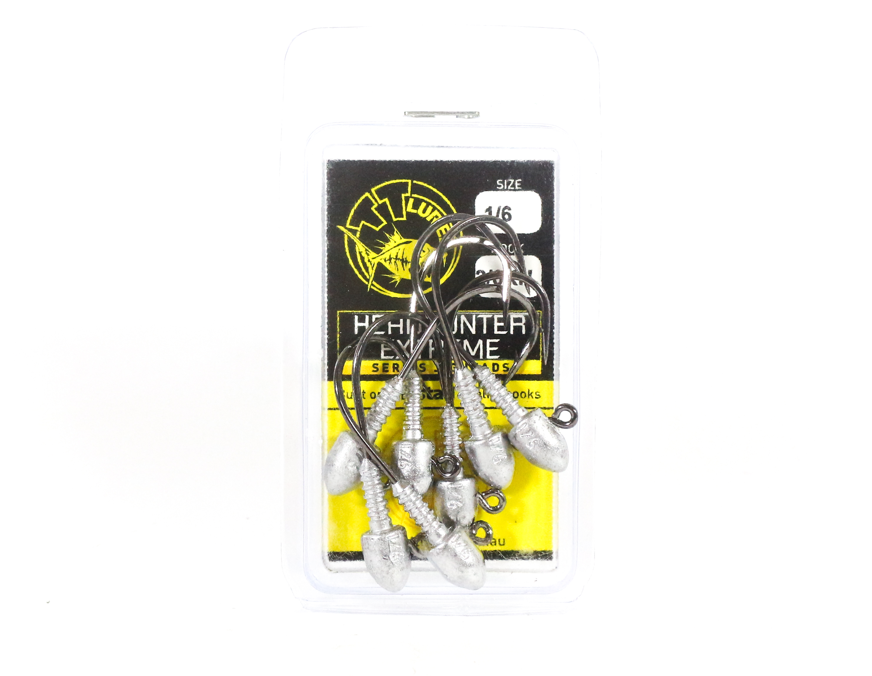Tackle Tactics TT Head Hunter Extreme Jig Head 1/6 oz 2/0 XH 7 per pack (1494)