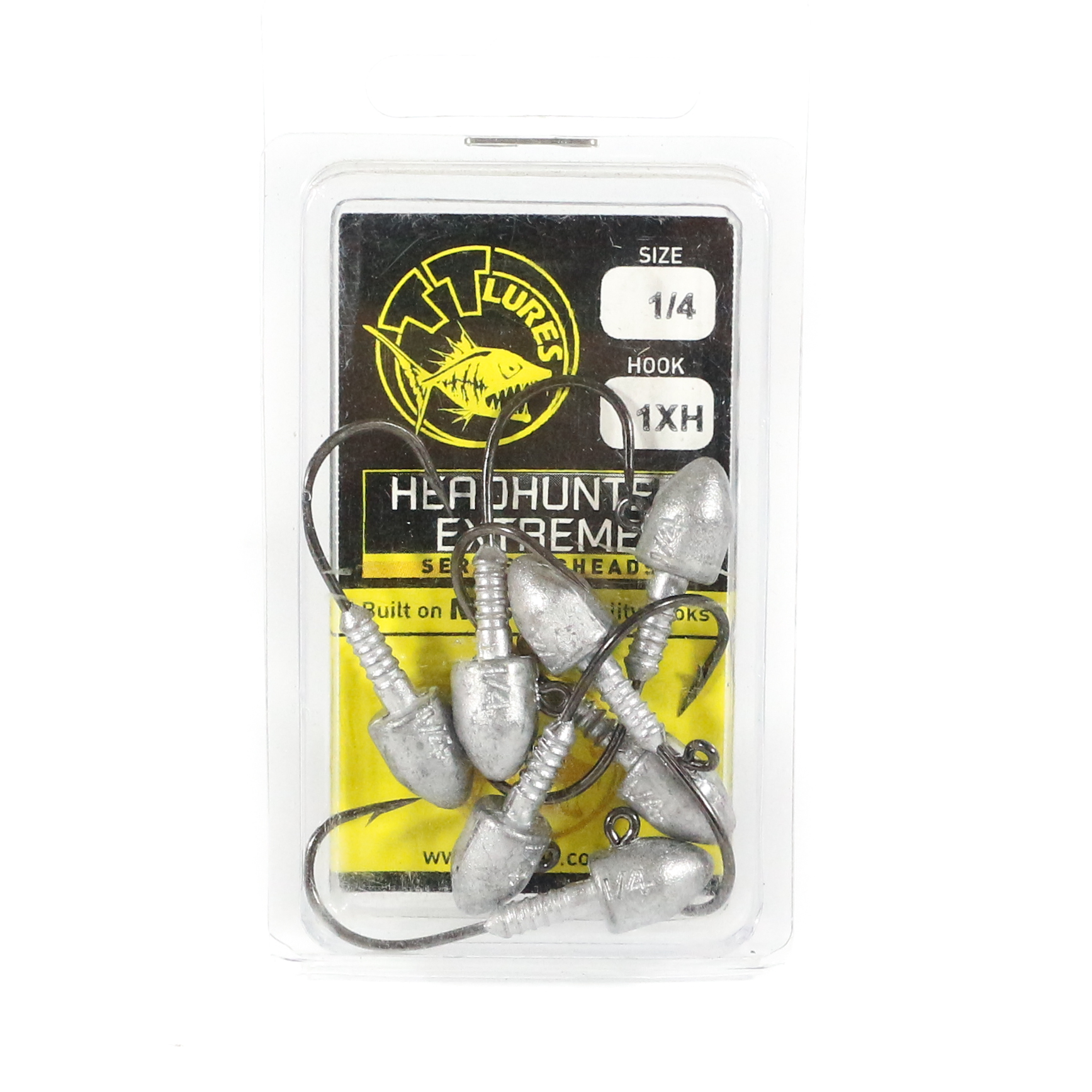 Tackle Tactics TT Head Hunter Extreme Jig Head 1/4 oz 1 XH 7 per pack (1500)