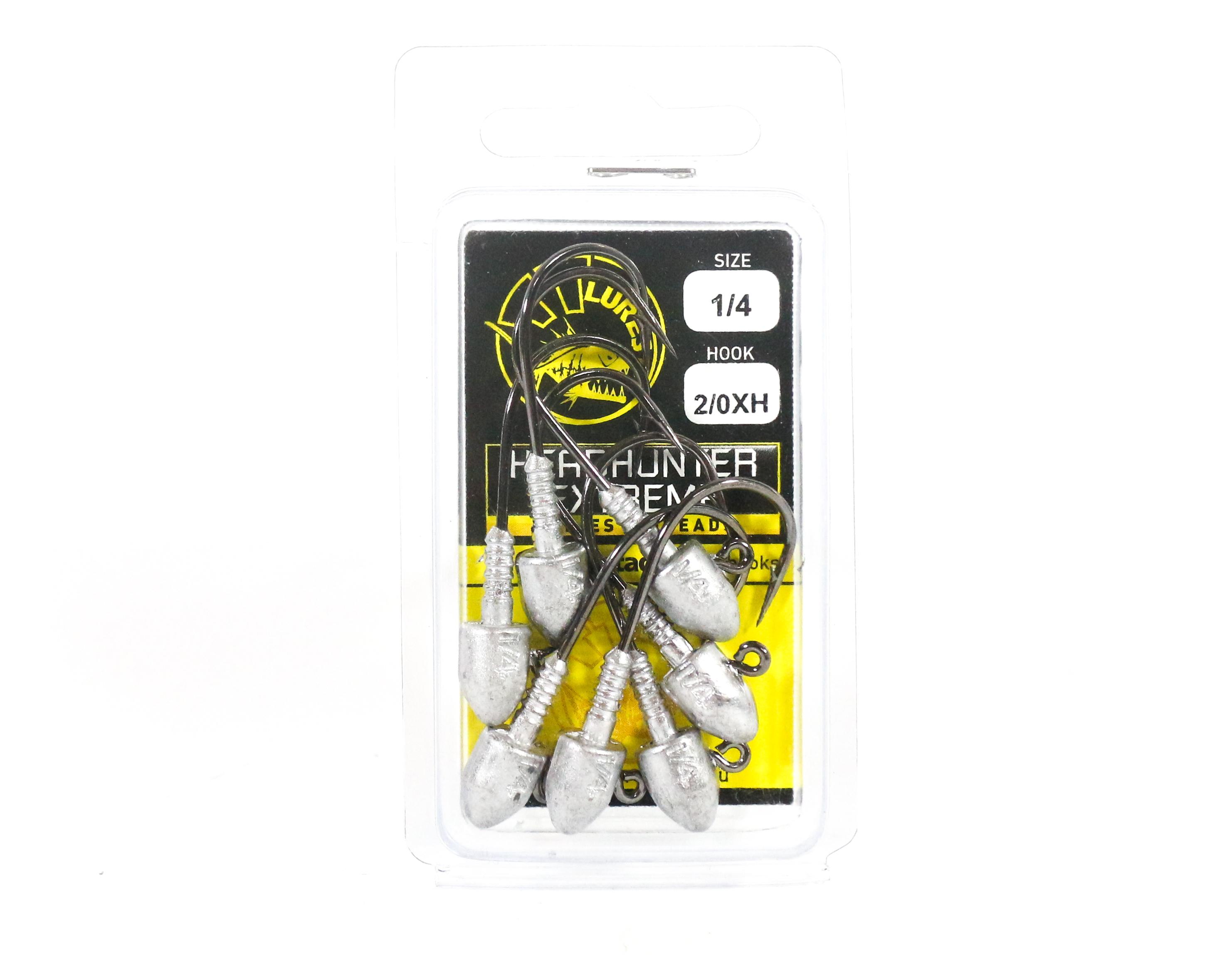 Tackle Tactics TT Head Hunter Extreme Jig Head 1/4 oz 2/0 XH 7 per pack (1524)