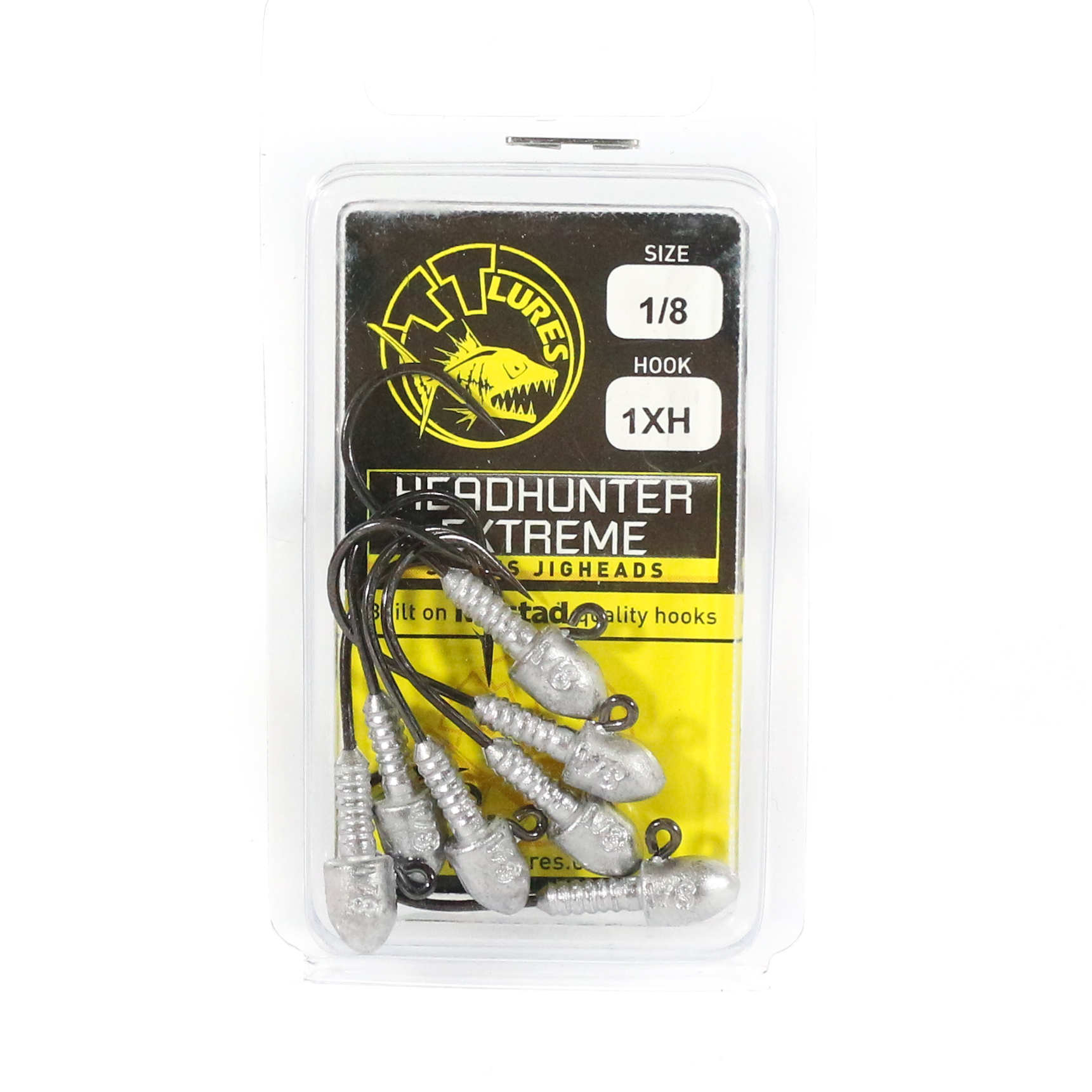 Tackle Tactics TT Head Hunter Extreme Jig Head 1/8 oz 1 XH 7 per pack (1531)