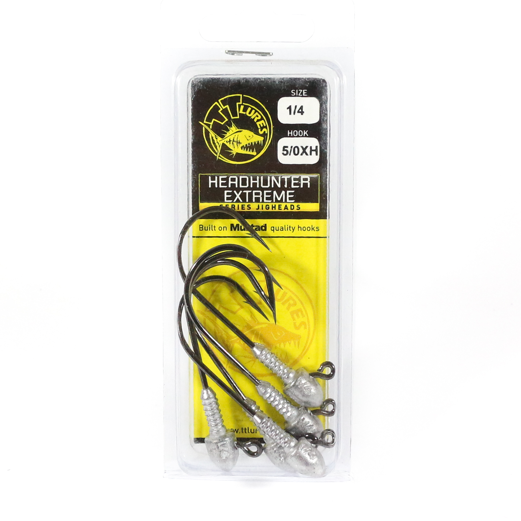 Tackle Tactics TT Head Hunter Extreme Jig Head 1/4 oz 5/0 XH 5 per pack (1821)