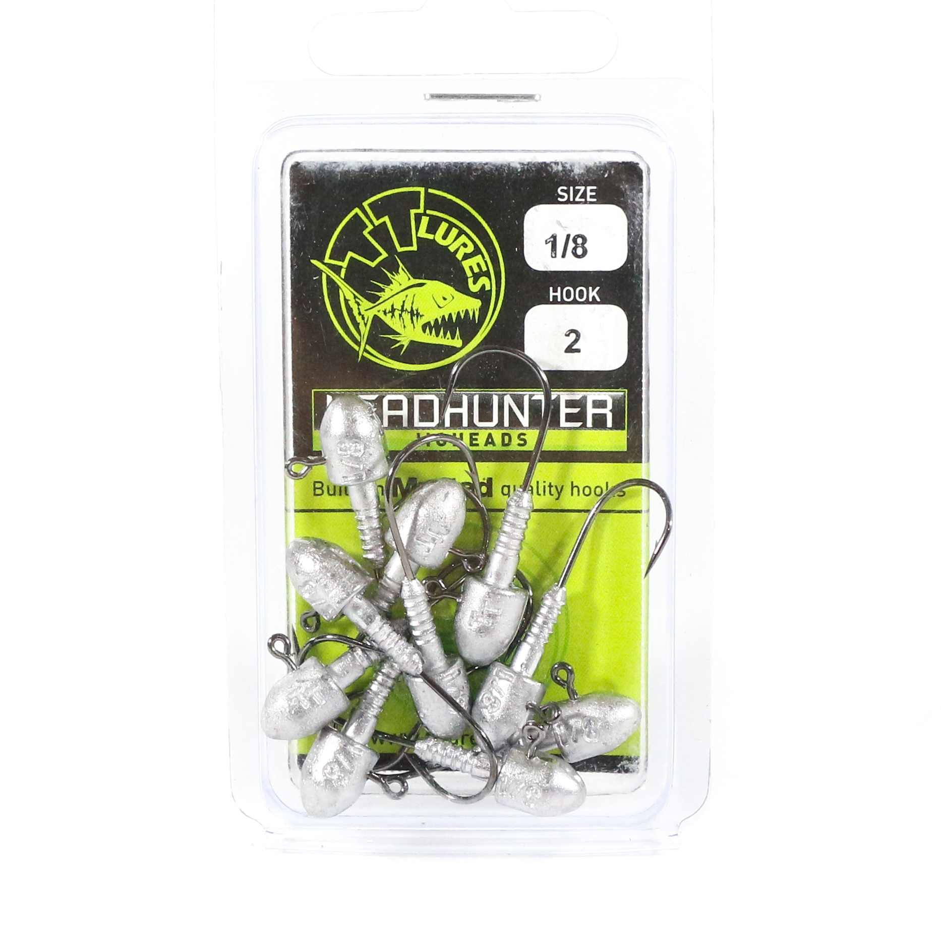 Tackle Tactics TT Head Hunter Jig Head 1/8 oz 2 10 per pack (1098)