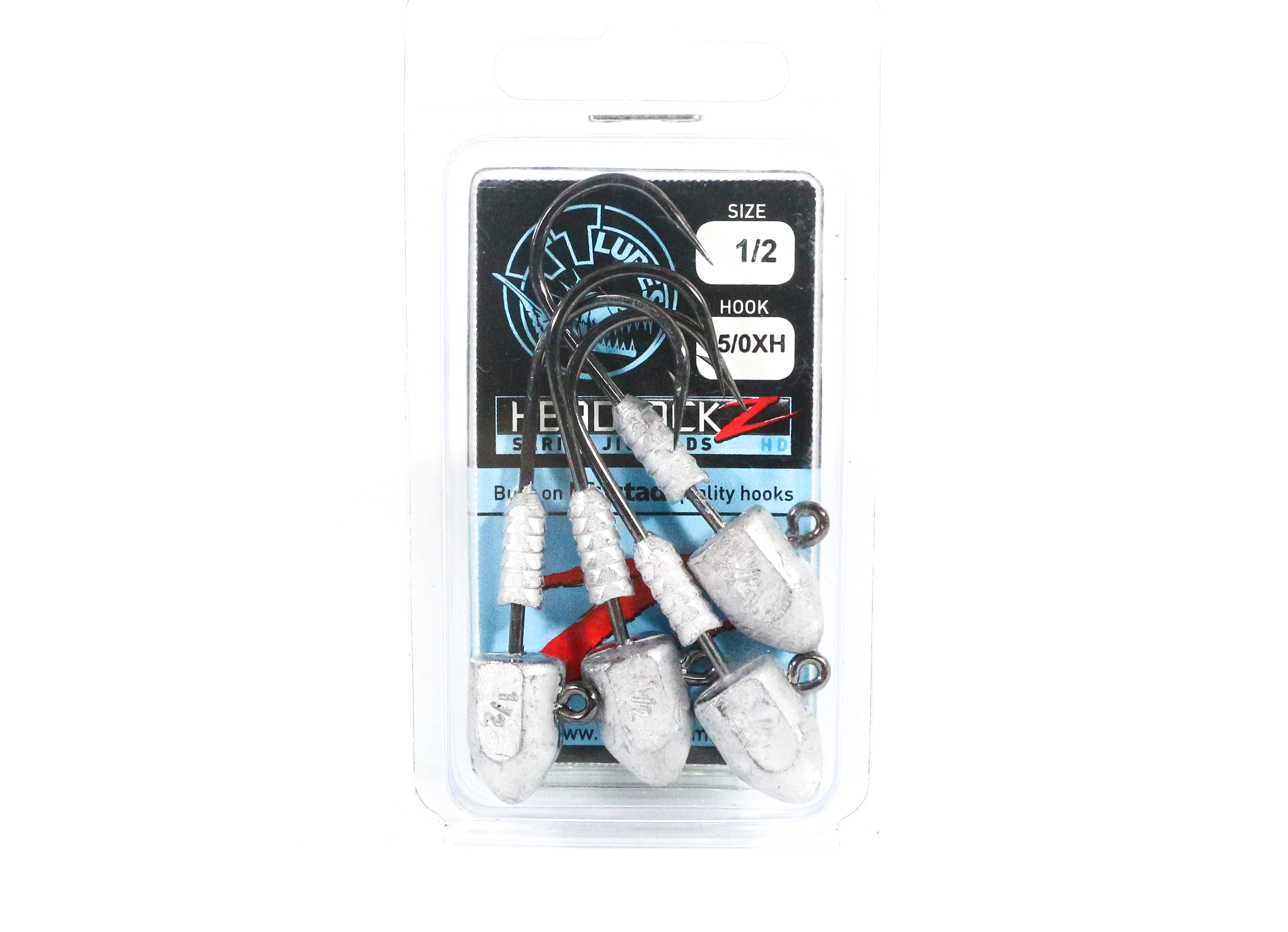 Tackle Tactics TT Headlockz HD Jig Head 1/2 oz 5/0 XH 4 per pack (3214)
