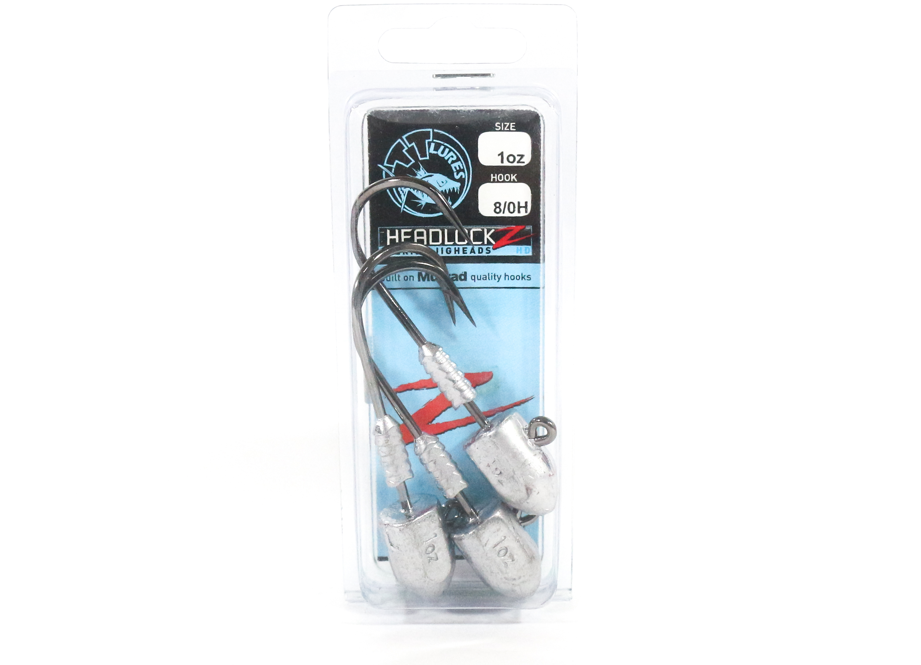 Tackle Tactics TT Headlockz HD Jig Head 1 oz 8/0 H 3 per pack (3337)