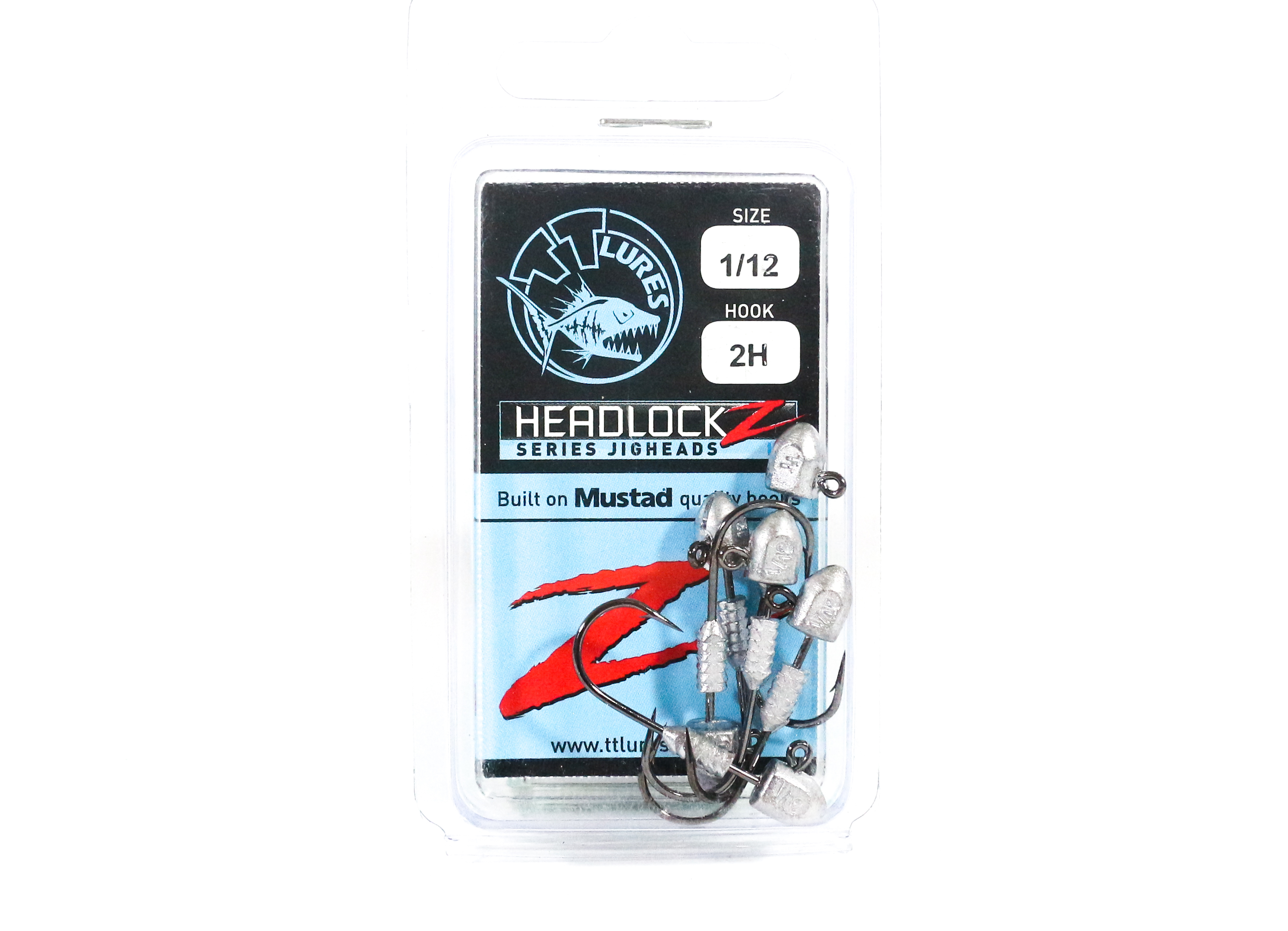 Tackle Tactics TT Headlockz HD Jig Head 1/12 oz 2 H 6 per pack (3559)