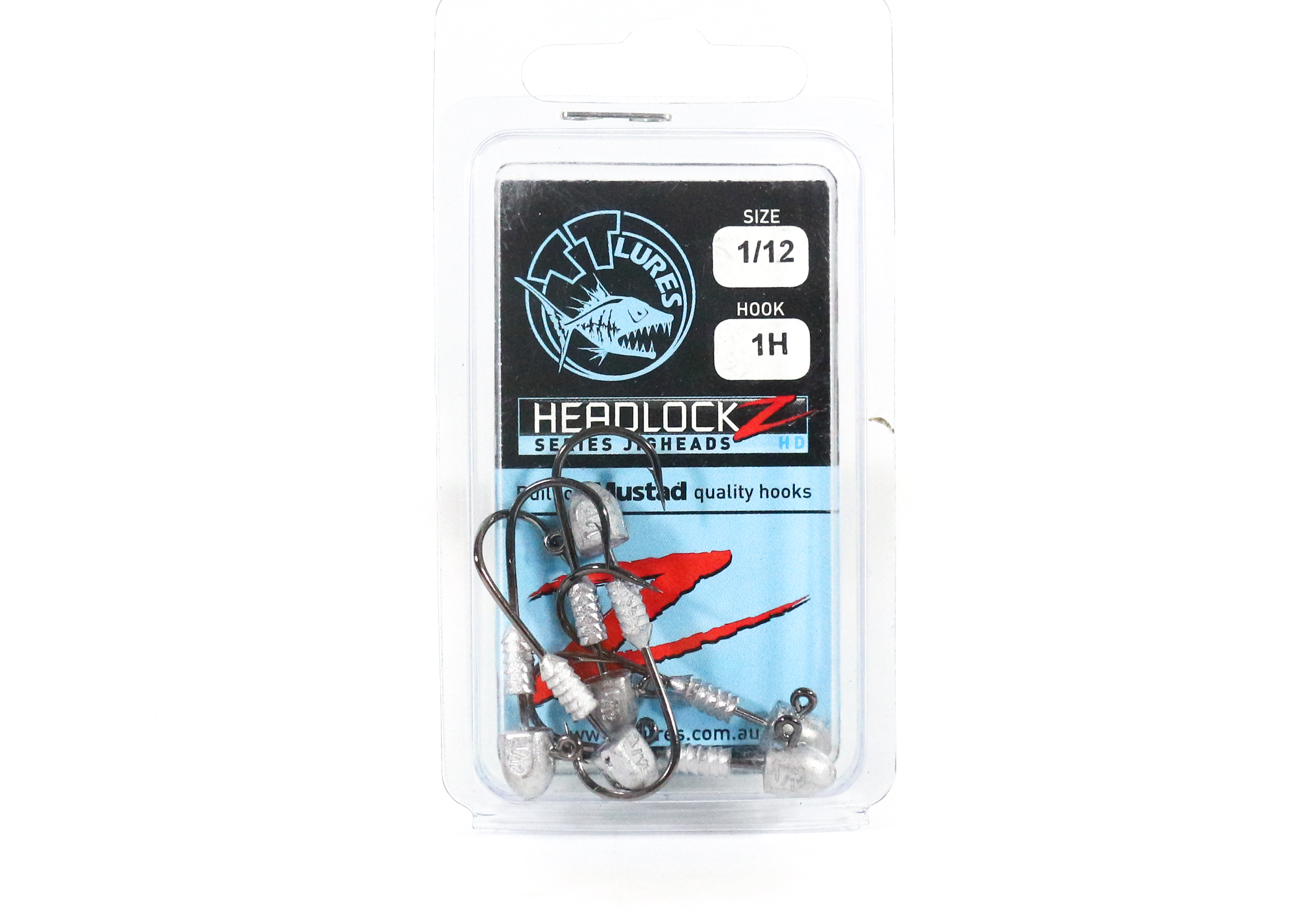 Tackle Tactics TT Headlockz HD Jig Head 1/12 oz 1 H 6 per pack (3566)