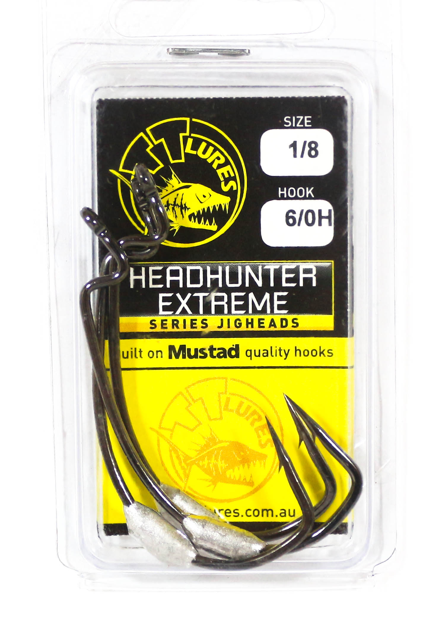 Tackle Tactics TT Head Hunter Extreme SWS Hook 1/8 oz 6/0 XH 2 per pack (1951)