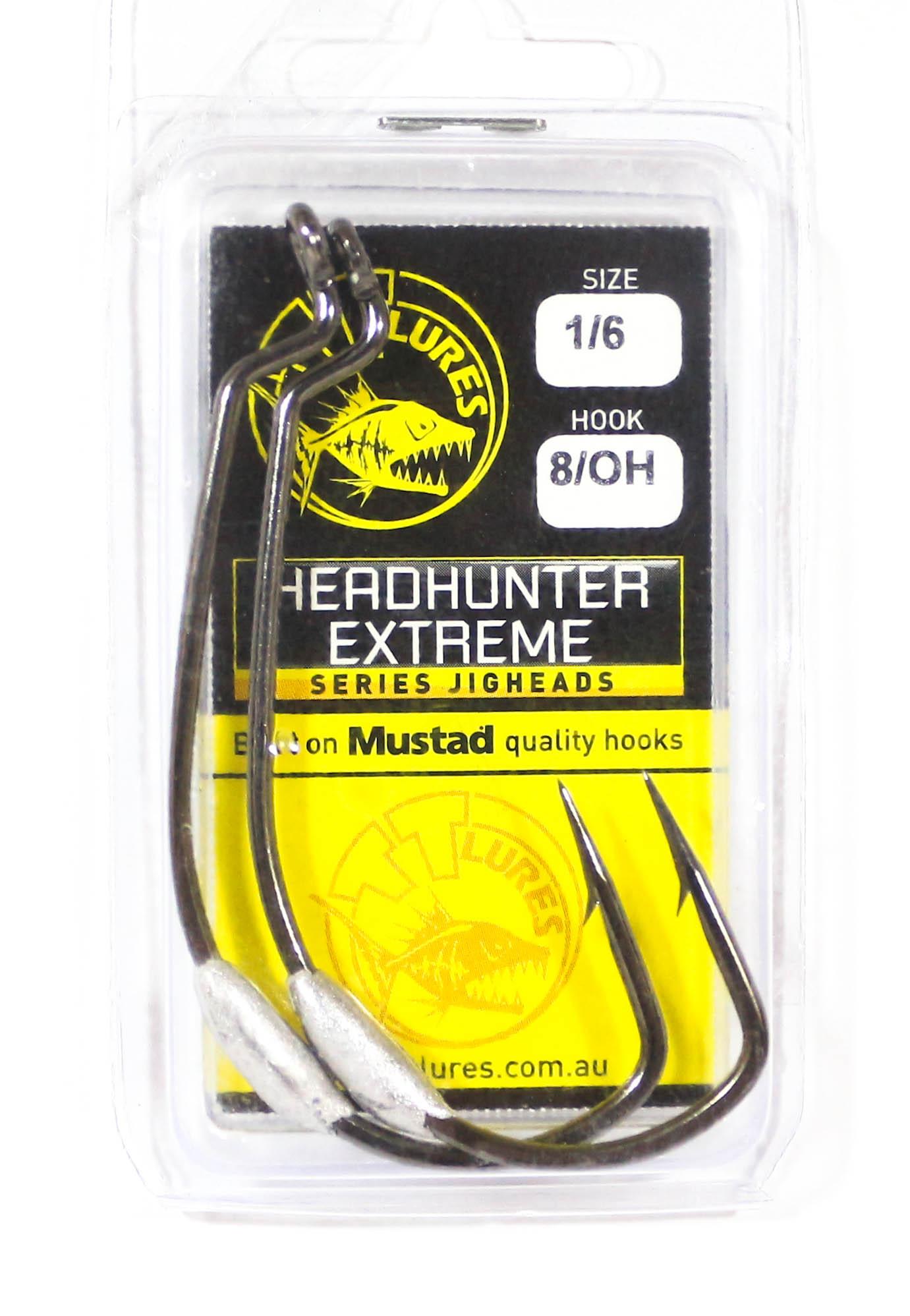 Tackle Tactics TT Head Hunter Extreme SWS Hook 1/8 oz 8/0 XH 2 per pack (1975)