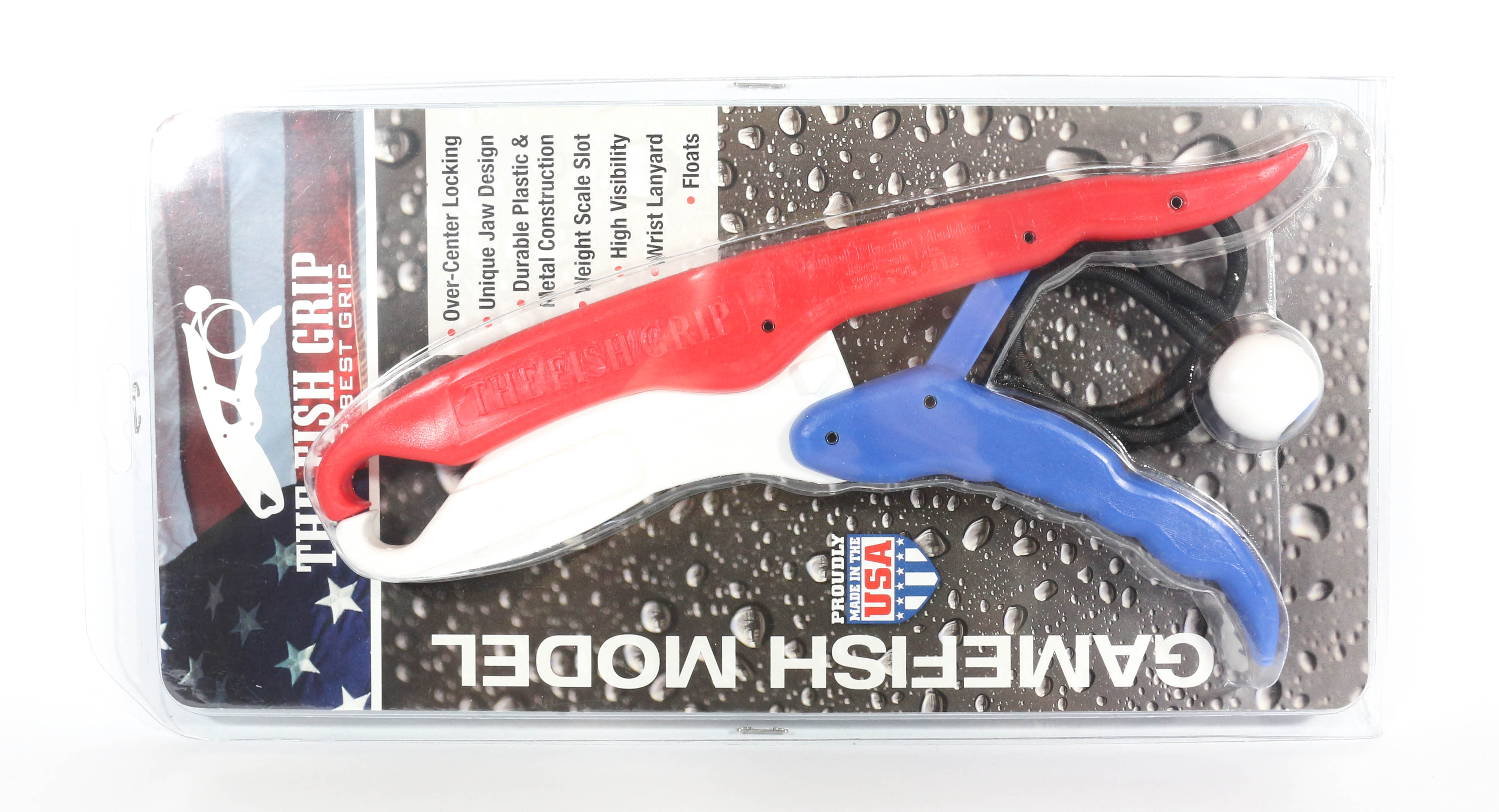 The Fish Grip Floating Game Fish Model All American (0628)