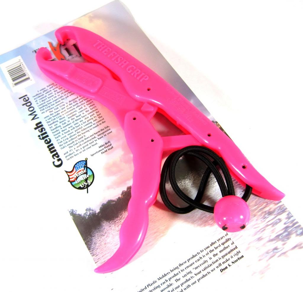 The Fish Grip Floating Game Fish Model Pink (0710)