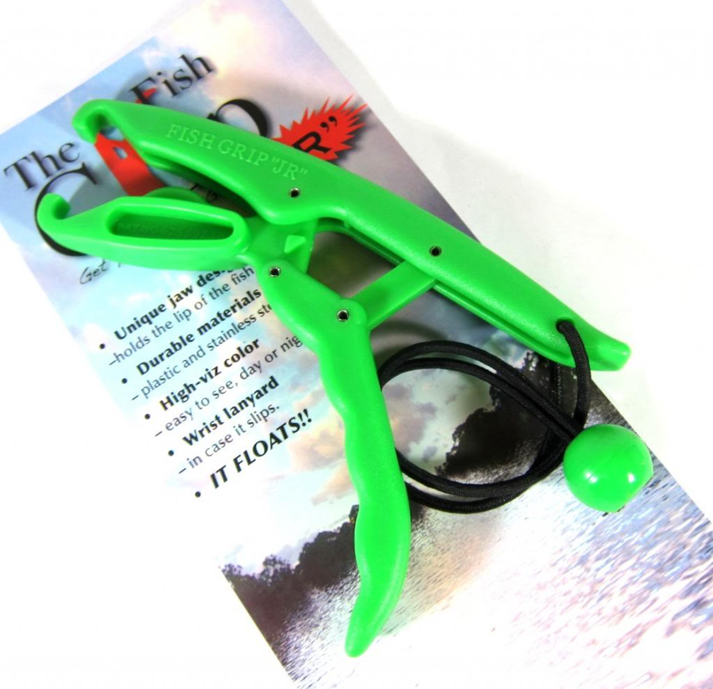 The Fish Grip Floating JR Model Green (0765)