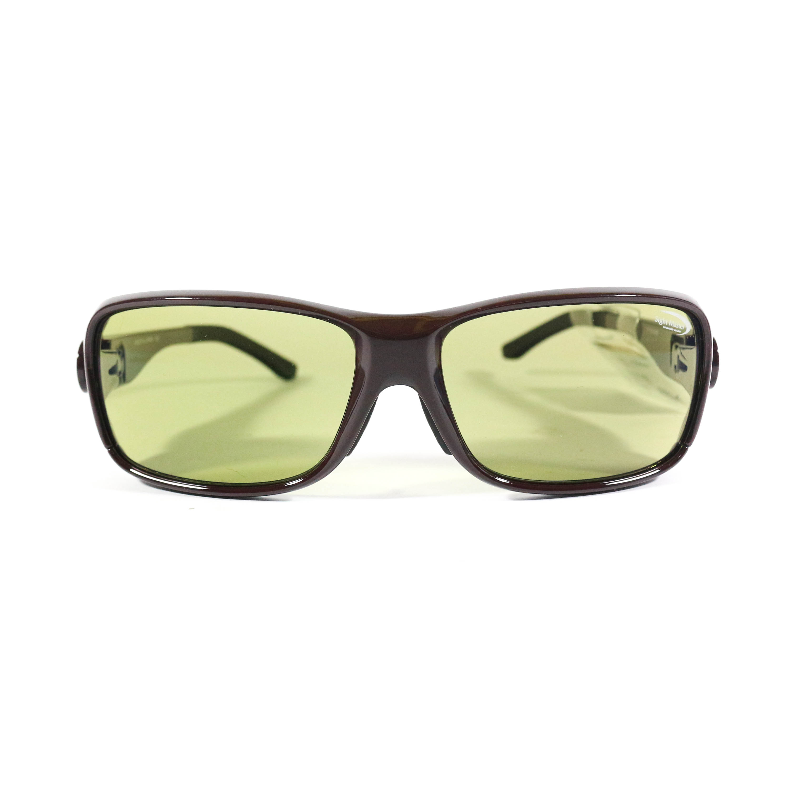 Tiemco Sight Master Sunglasses Canopy Mahogany Ease Green (8001)