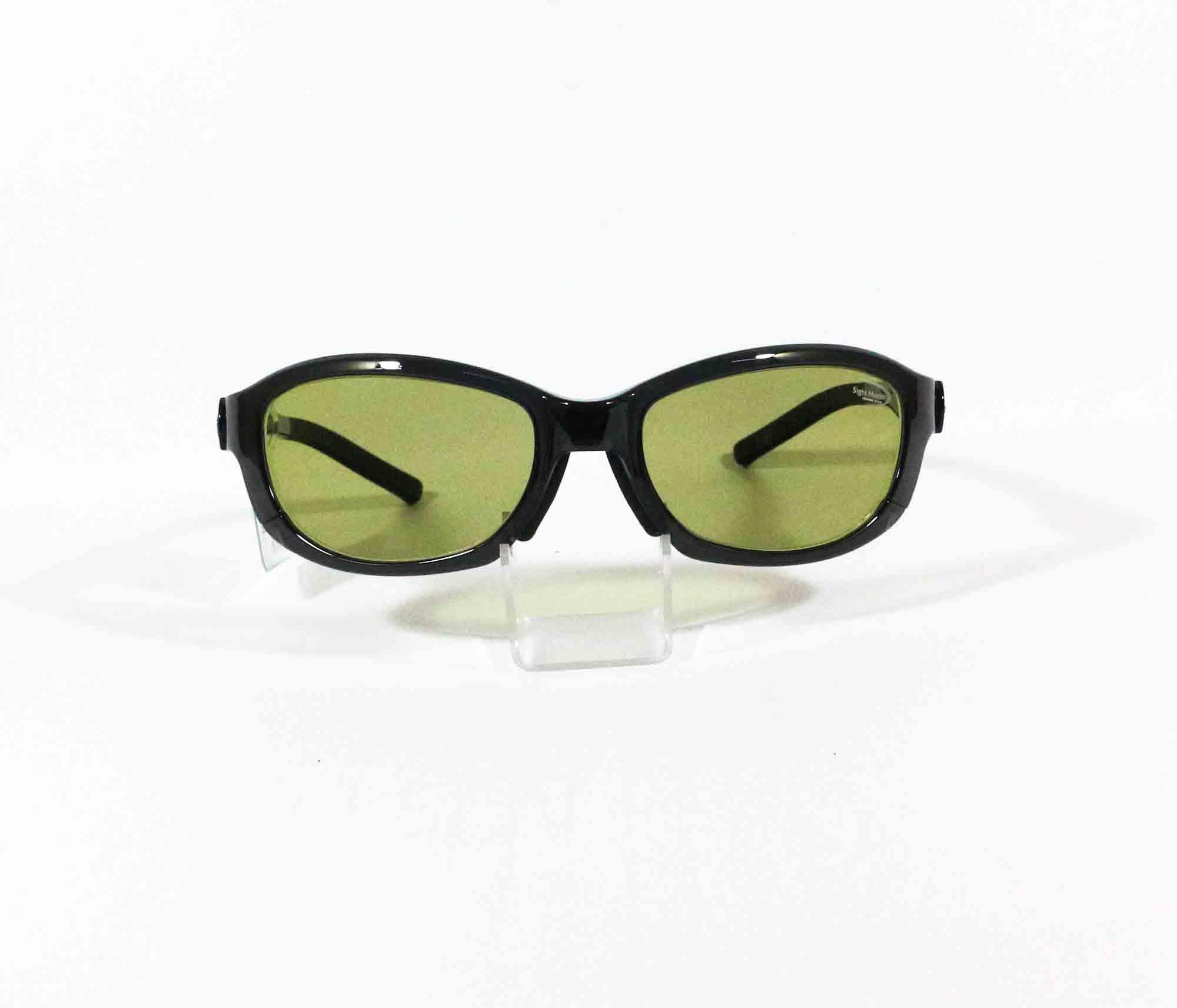 Tiemco Sight Master Sunglasses Scepter Smoke Ease Green (0993)
