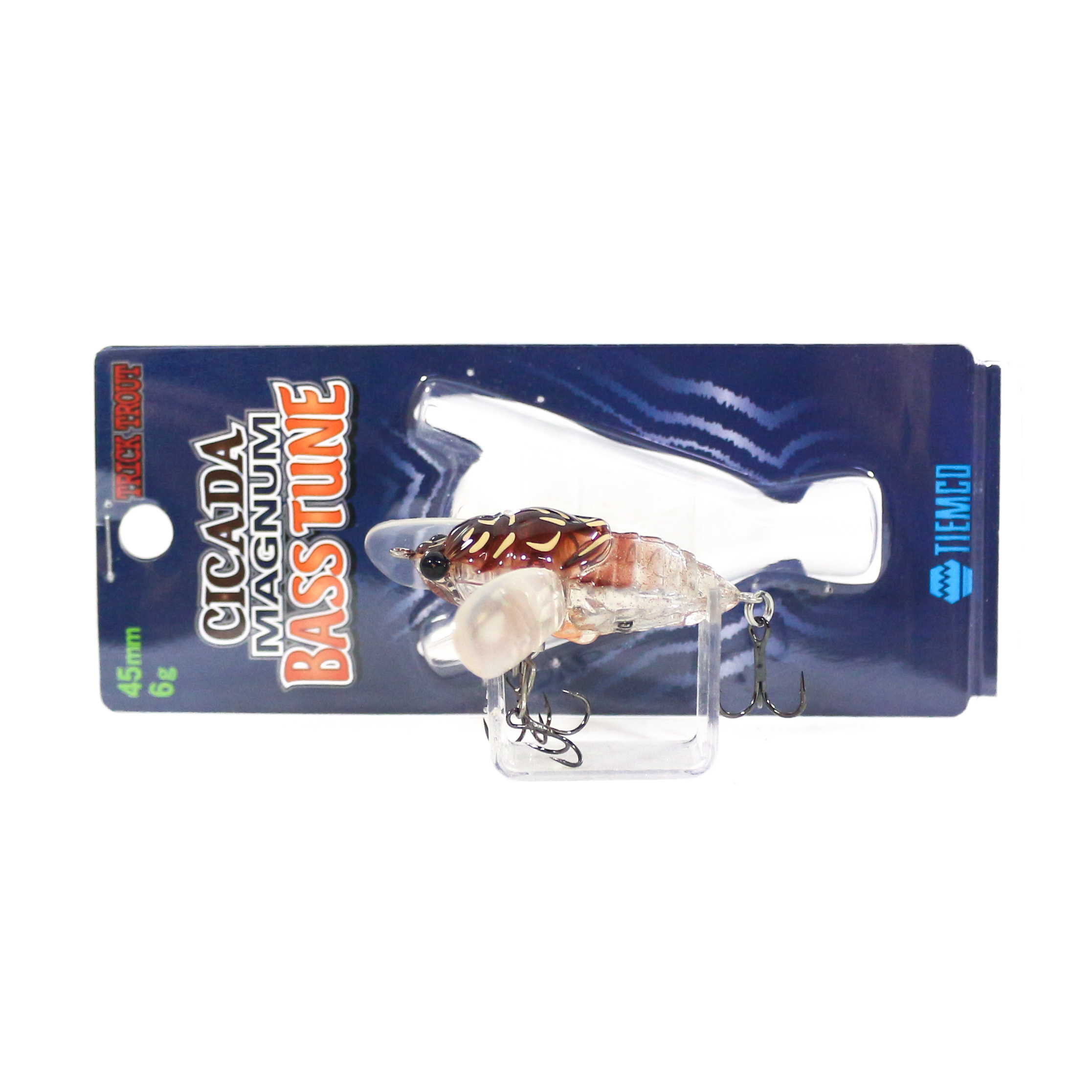 Tiemco Cicada Magnum Bass Tune Floating Lure TTCMG-B-060 (9931)