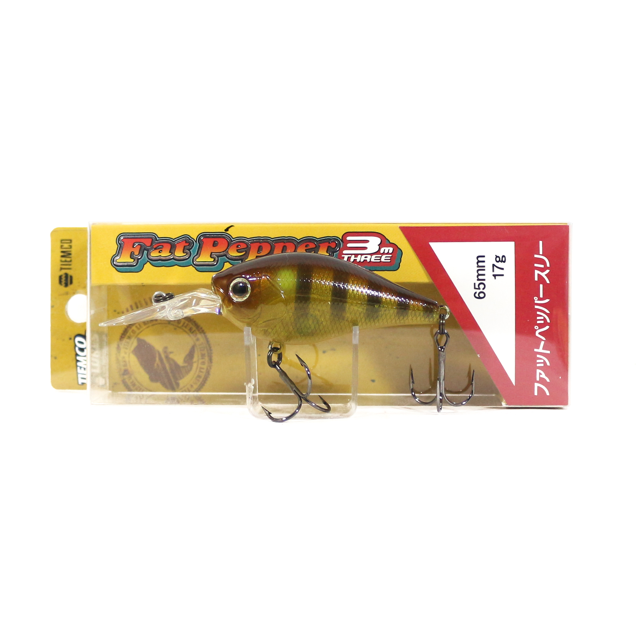 Tiemco Fat Pepper Three FP3 Diving Crank Bait Floating Lure 248 (2802)
