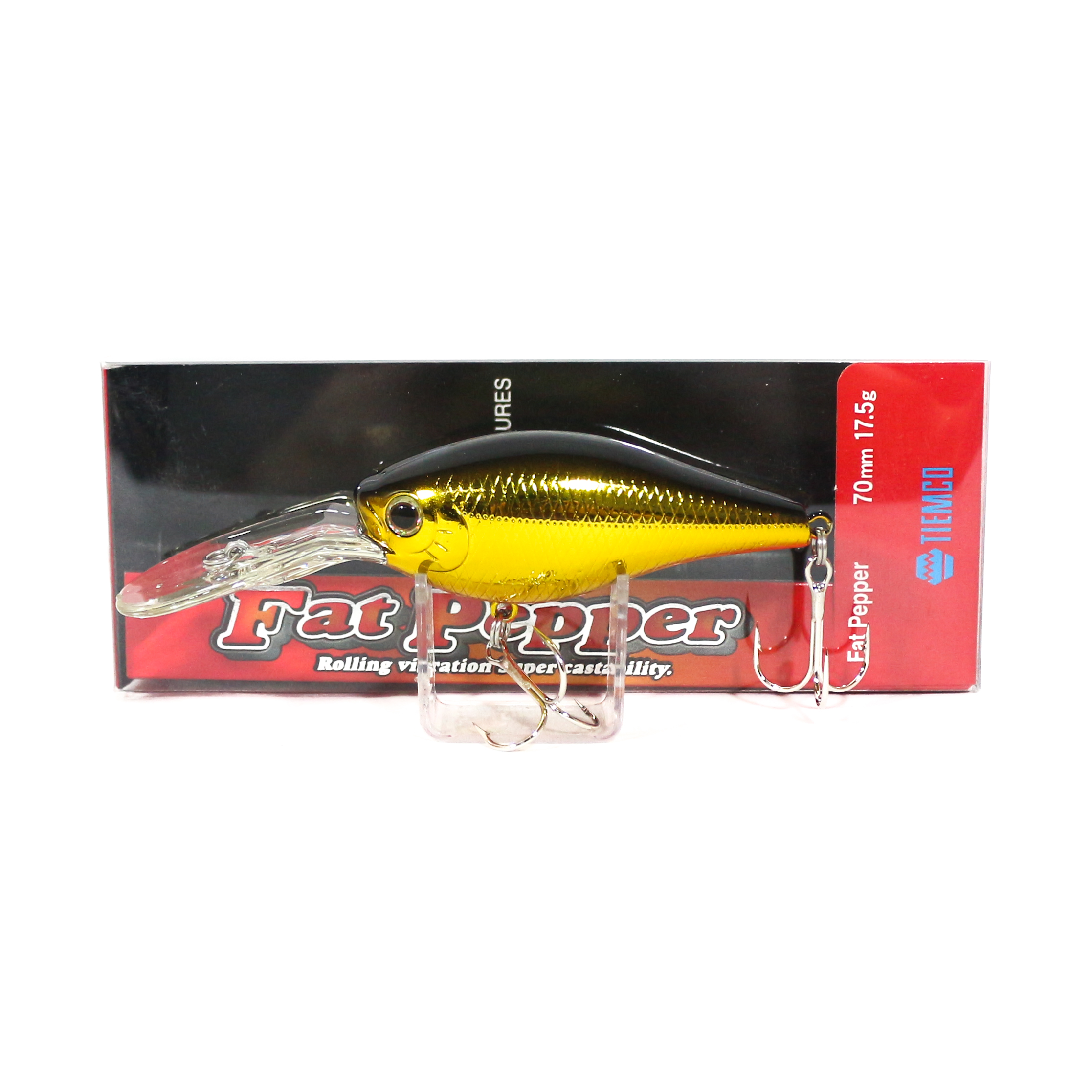 Tiemco Fat Pepper Diving Crank Bait Floating Lure FP-108 (1779)