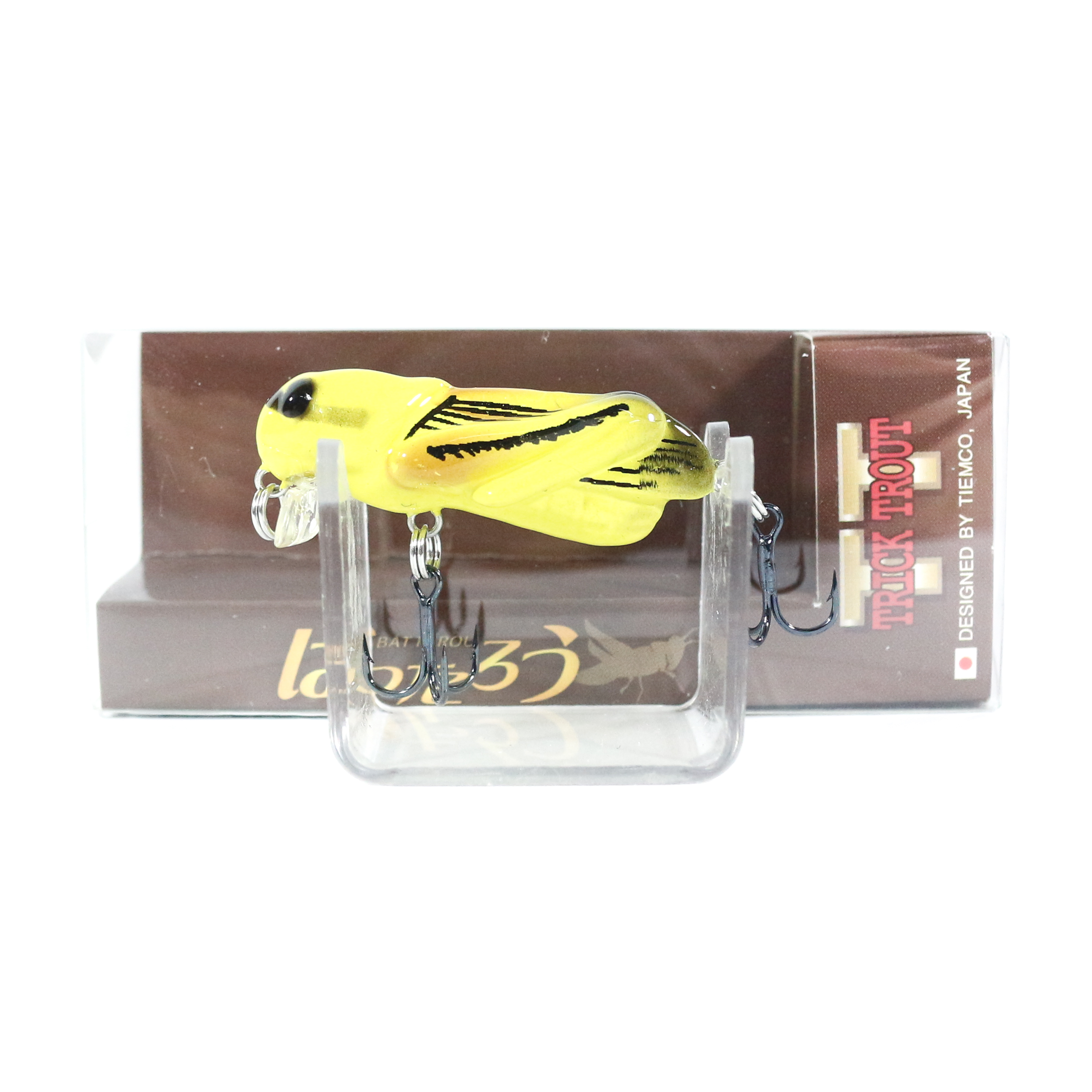 Tiemco Grasshopper Tiny Trick Trout Floating Lure TTB-002 (6667)