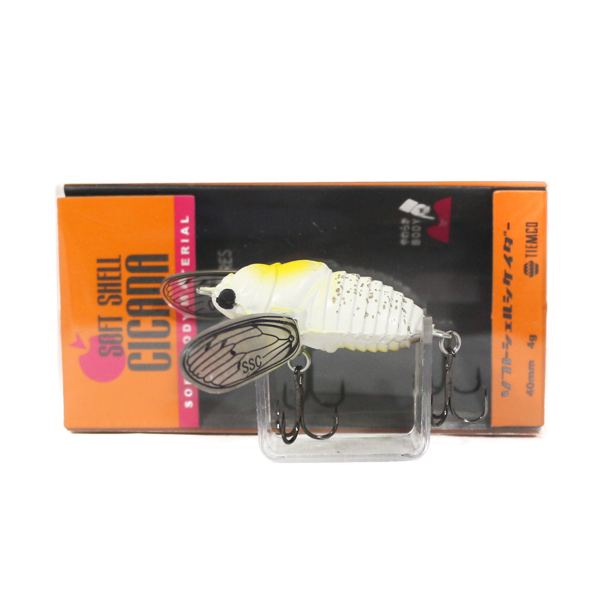 Tiemco Cicada Soft Shell Floating Lure SSC-082 (4816)