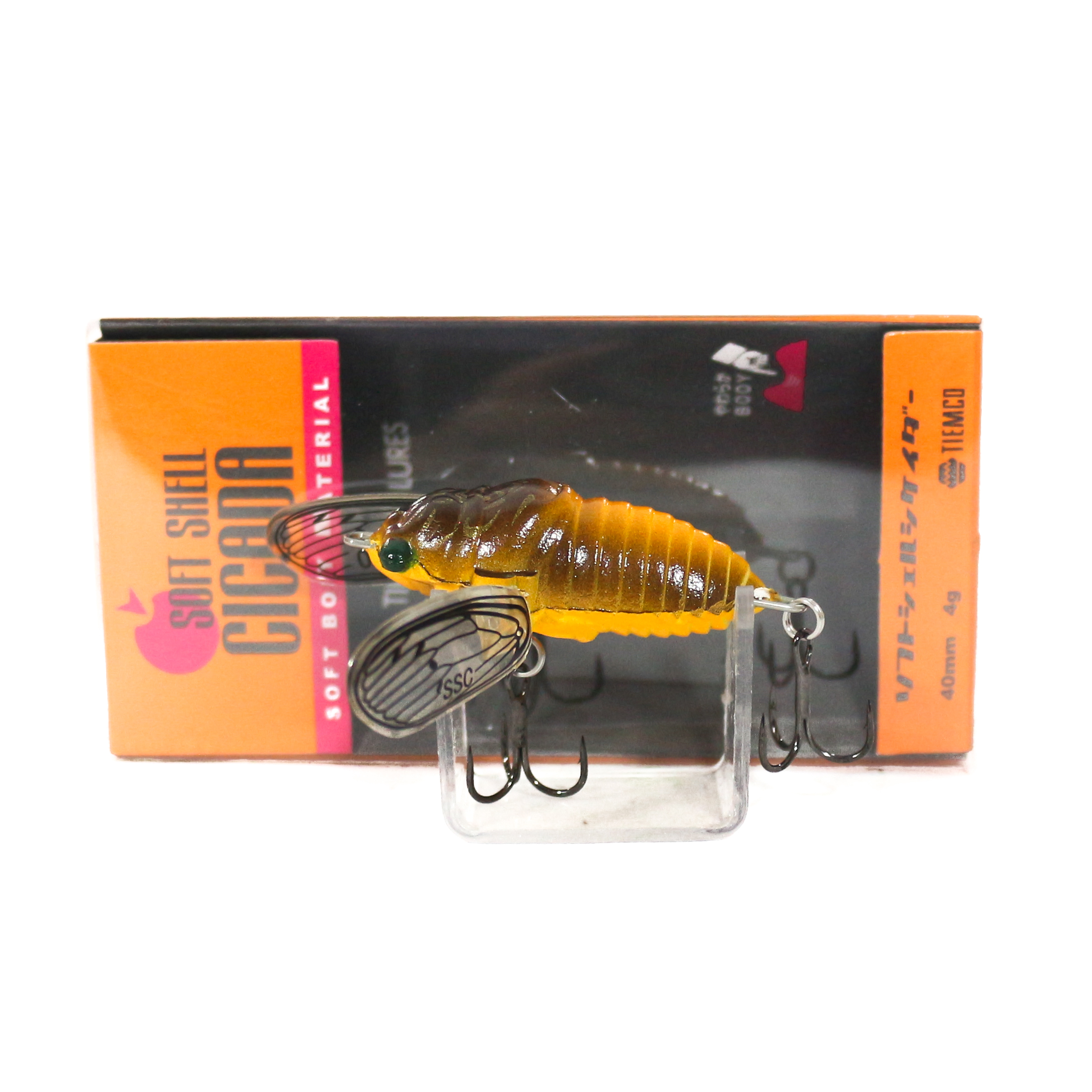 Tiemco Cicada Soft Shell Floating Lure SSC-062 (8867)