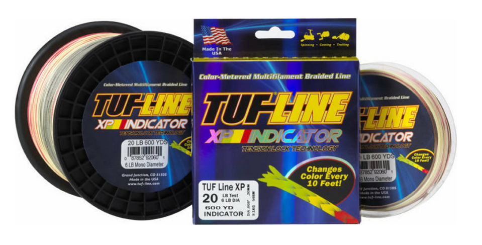 Sale Tuf Line XP Braided Spectra Line Tuff 150lb 600yds Indicator (6000)