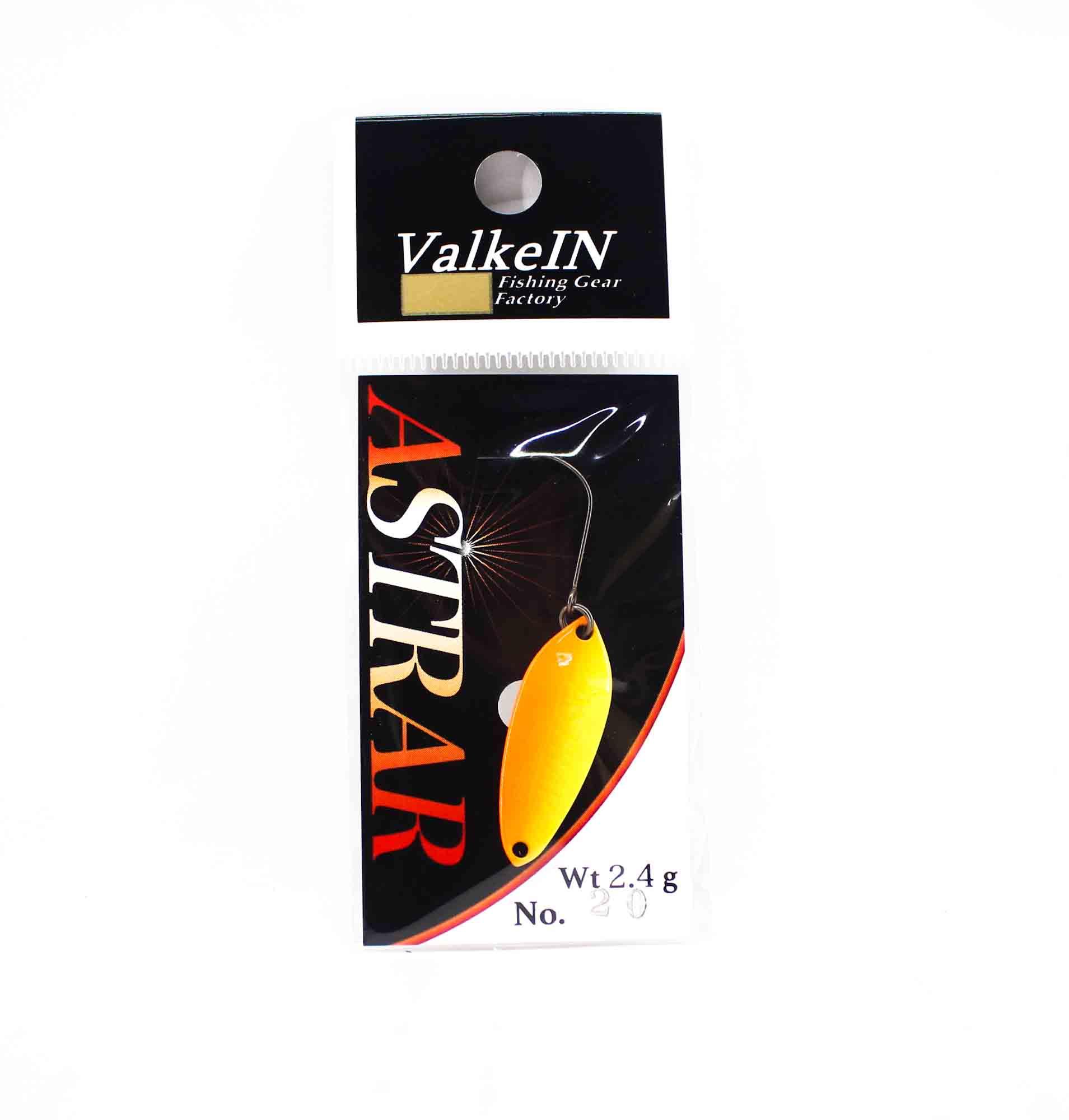 Valkein Spoon Astrar 2.4 grams Sinking Lure No.20 (0369)