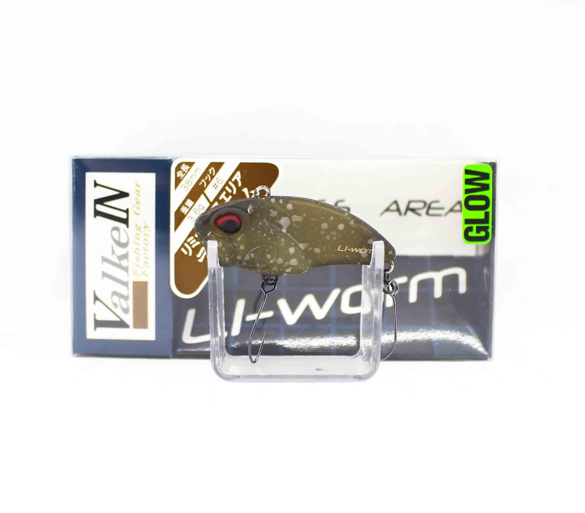 Valkein Li-Worm 38mm 3.6 grams Sinking Lure M033 (0925)