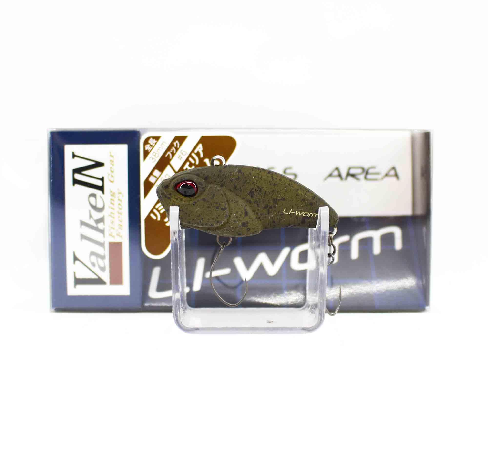 Valkein Li-Worm 38mm 3.6 grams Sinking Lure M034 (0932)