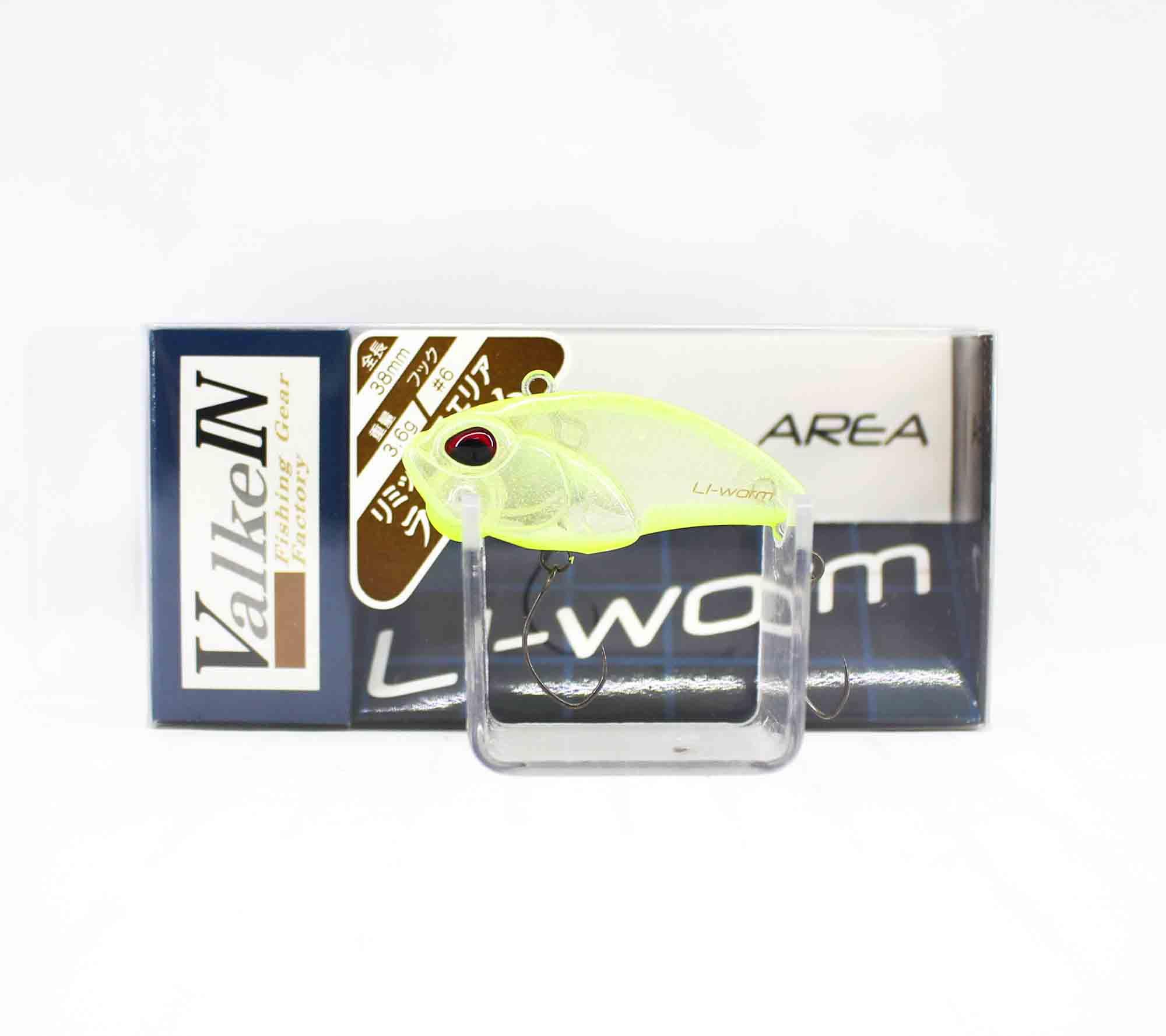 Valkein Li-Worm 38mm 3.6 grams Sinking Lure C048 (5180)