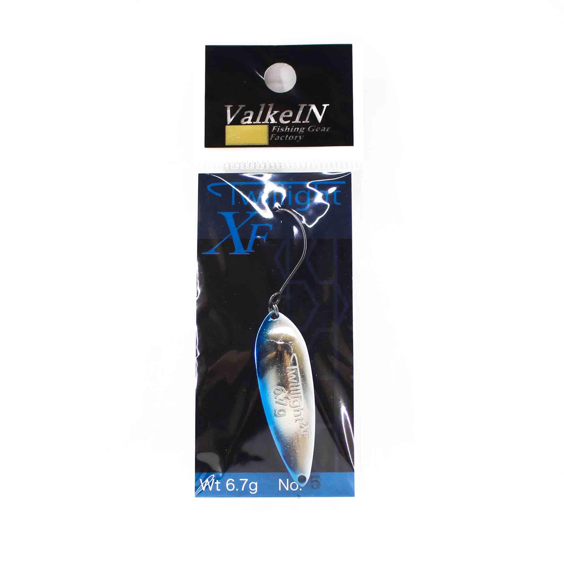 Valkein Spoon Twilight XF 6.7 grams Sinking Lure No.5 (8631)