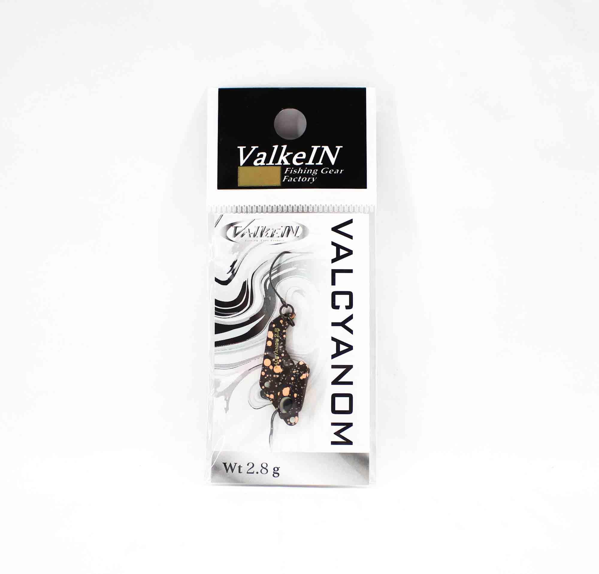 Valkein Spoon Valcyanom 2.8 grams Sinking Lure M149 (4183)