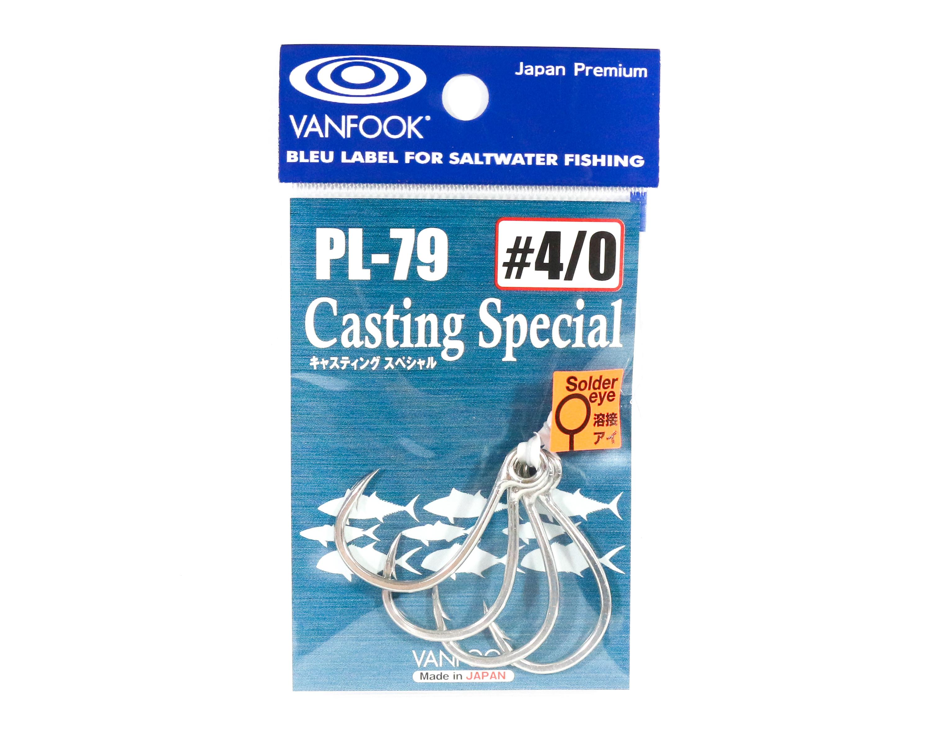 Vanfook PL-79 Casting Special Single Hook Size 4/0 (4523)