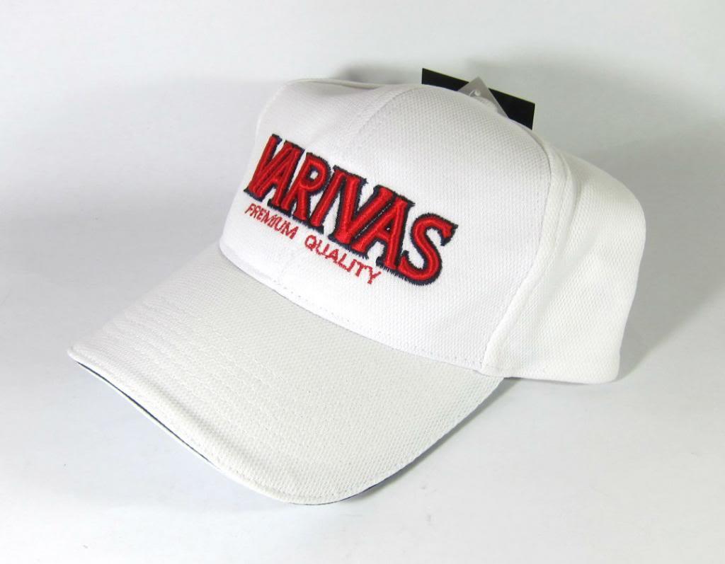 Sale Varivas VAC-07 Cap Pike Mesh Cap White (3343)