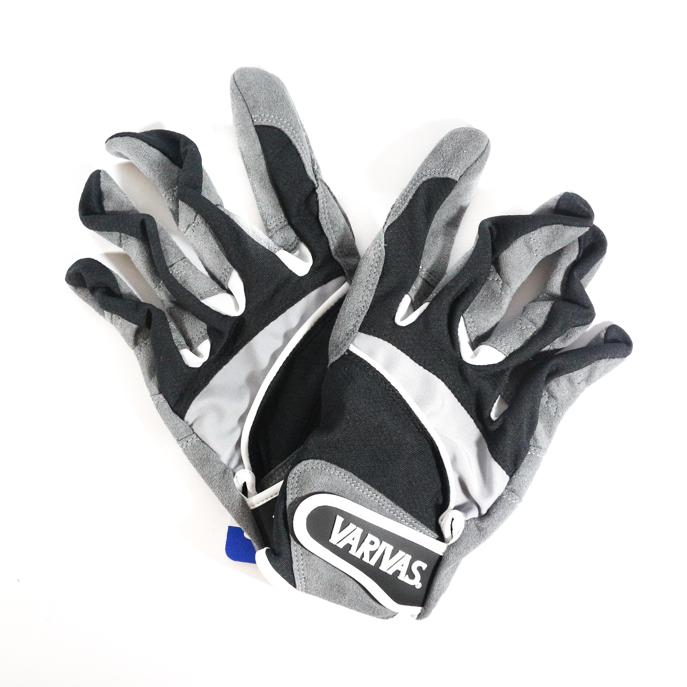 Varivas VAG-20 Mesh Gloves Ergo Grip Black Size LL (0511)