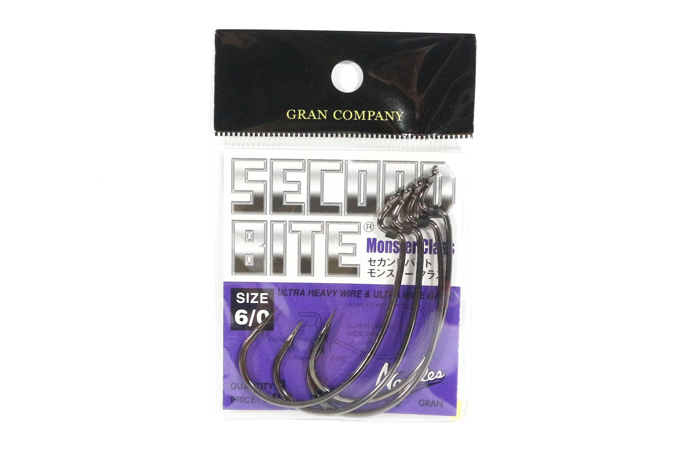 Sale Varivas Hooking Master Worm Hook Second Bite Monster Class Size 6/0 (6758)