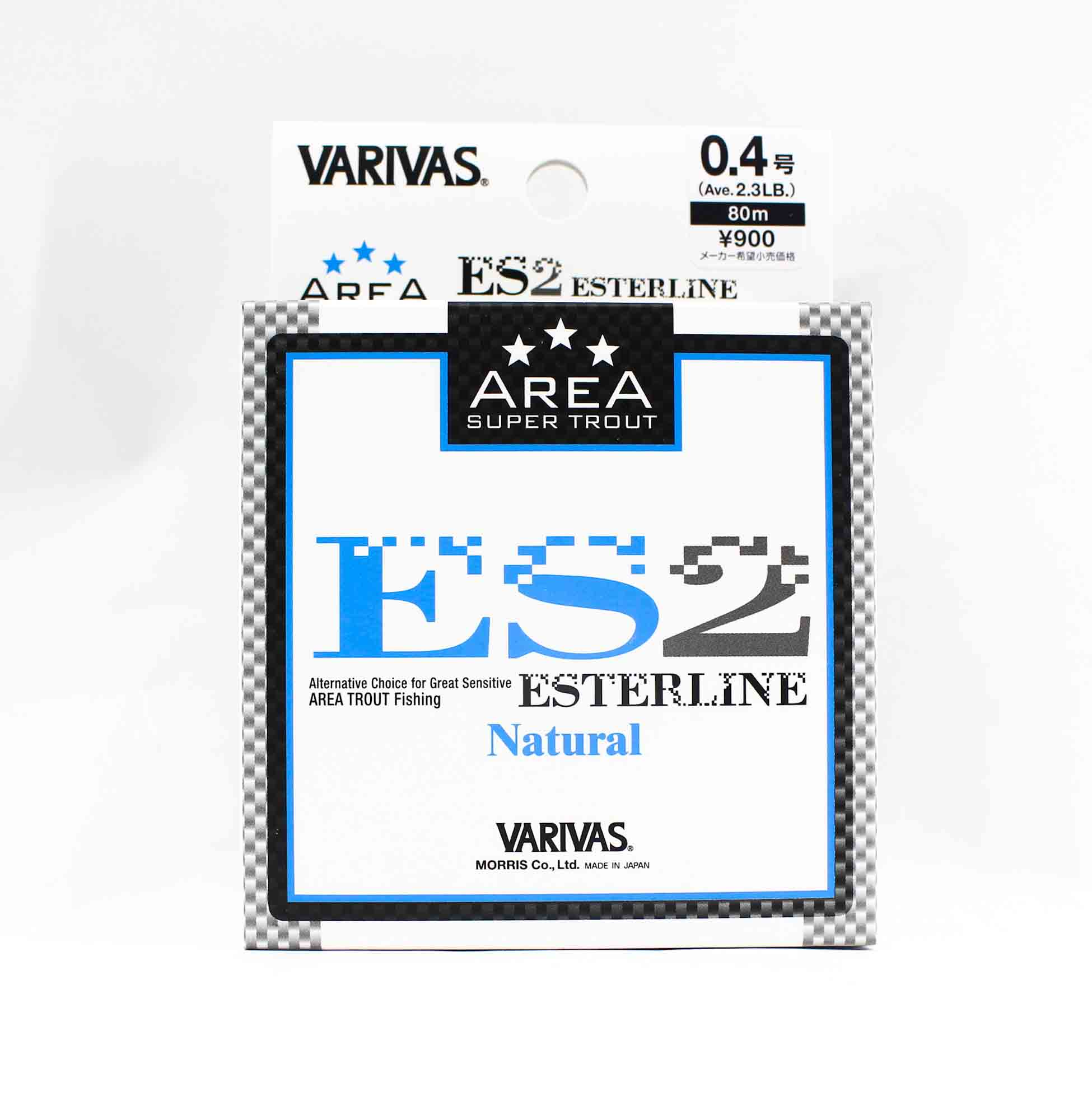 Varivas Ester Line Trout Area ES2 Natural 80m 0.4, 2.3lb (5294)