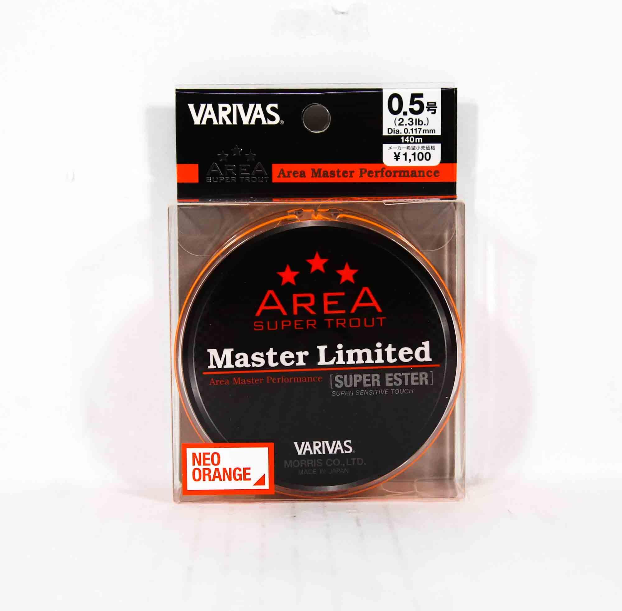 Varivas Ester Line Trout Area MLD Super Orange 140m P.E 0.5, 2.3lb (2595)