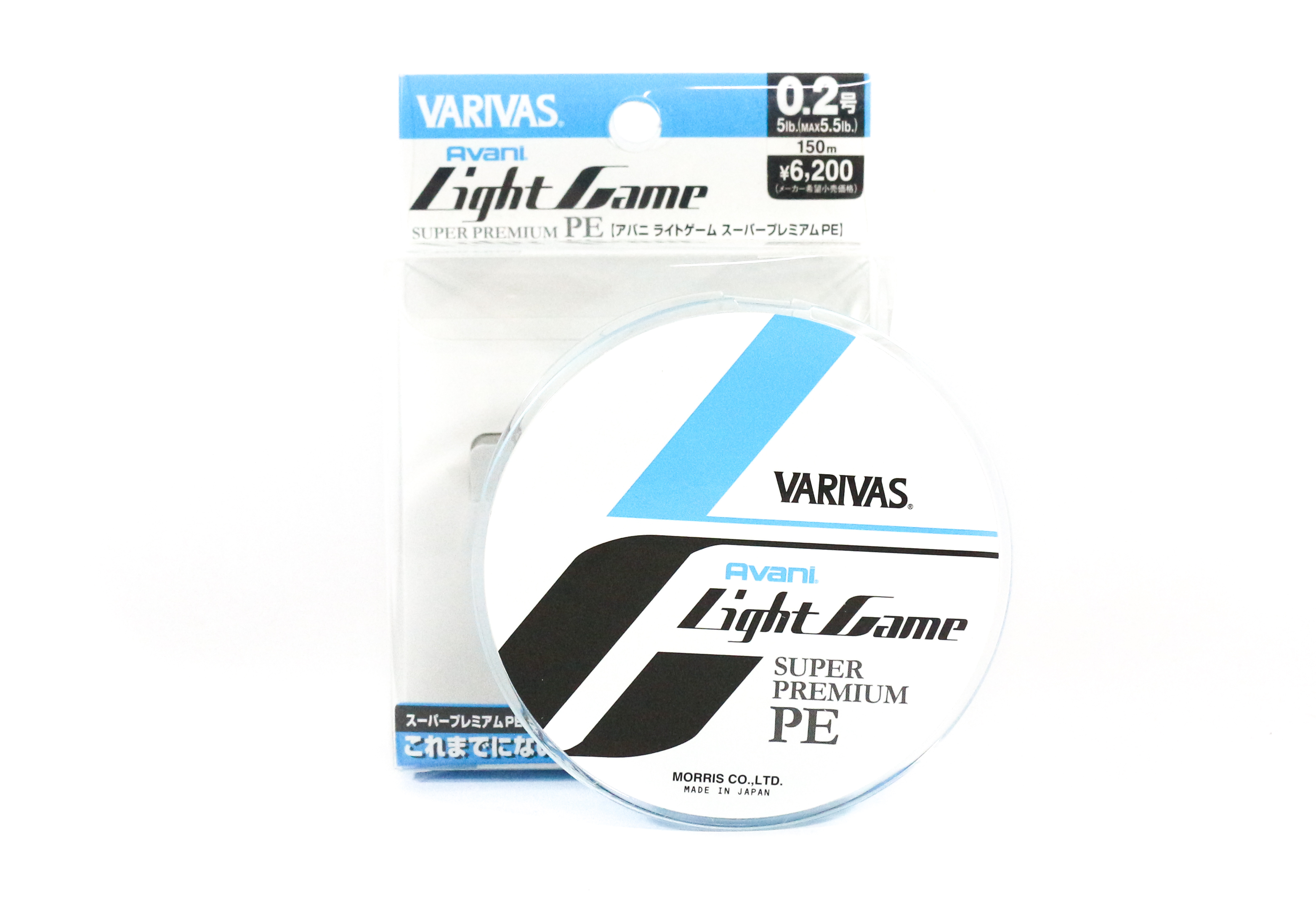 Sale Varivas P.E Line Light Game Super Premium 150m P.E 0.2 5.5lb (4928)